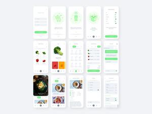 Fresh Food UI Kit