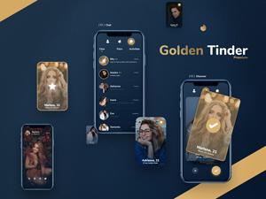 Tinder Gold App Redesign