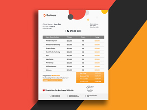 16 Invoice Freebies Hand Picked For Download