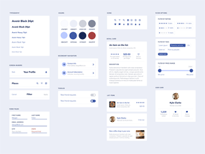 Price Table for Adobe XD - Freebie Supply