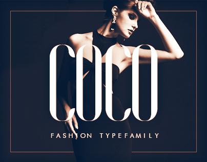 COCO Font - Free Fashion Type Family - Freebie Supply