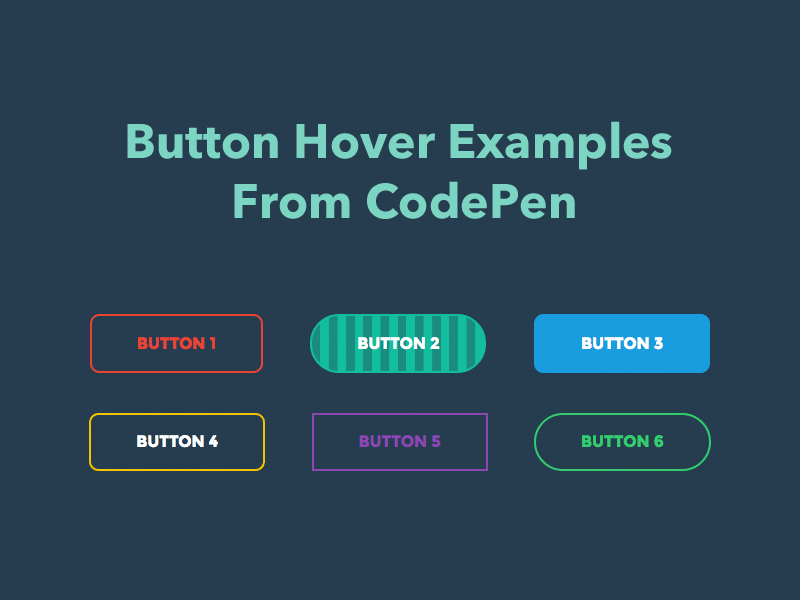 50+ css button hover examples from codepen 2018 freebie supply.