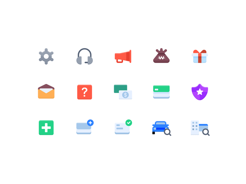 Flat Icon Pack - Freebie Supply