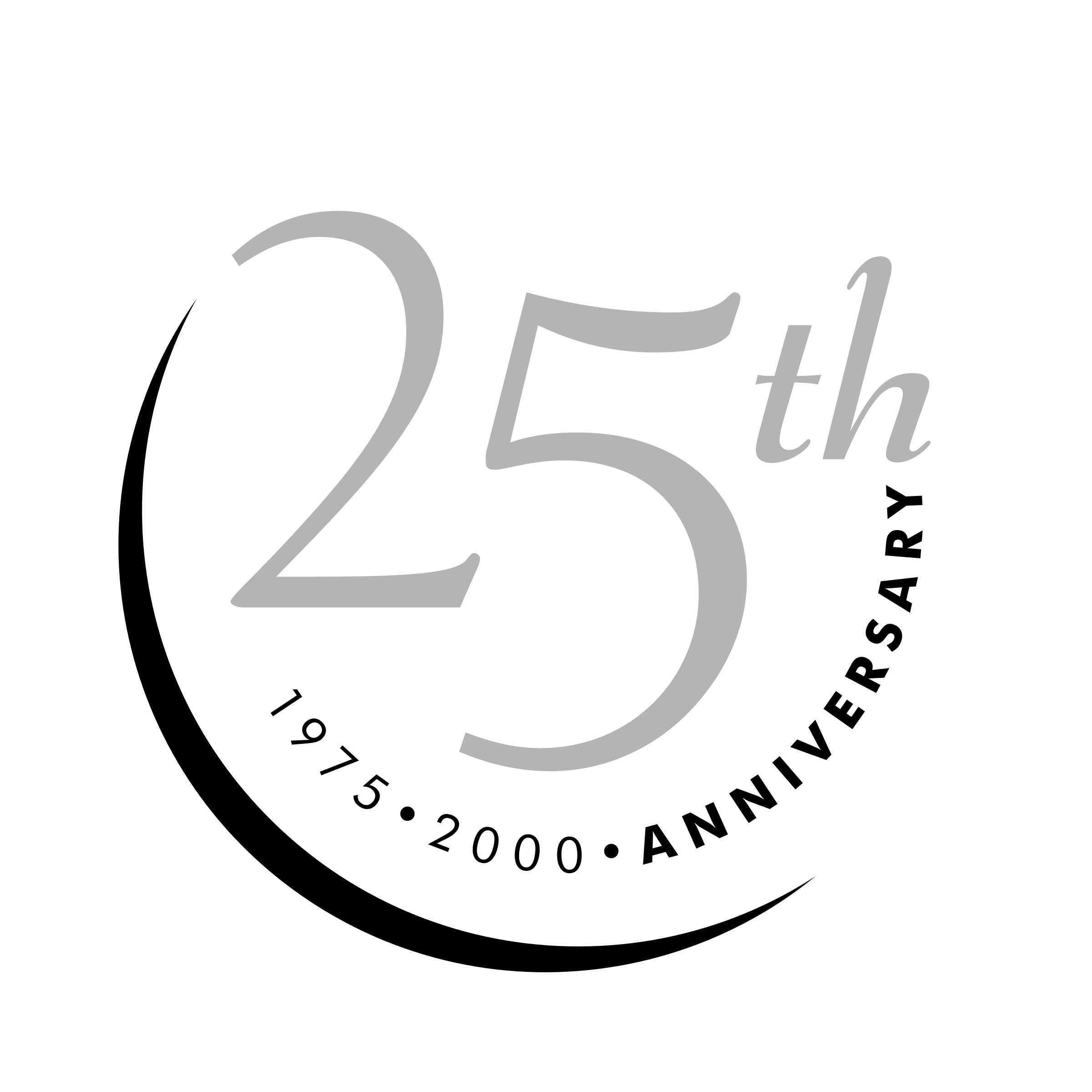25th anniversary png th anniversary logo png transparent & svg vector - freebie