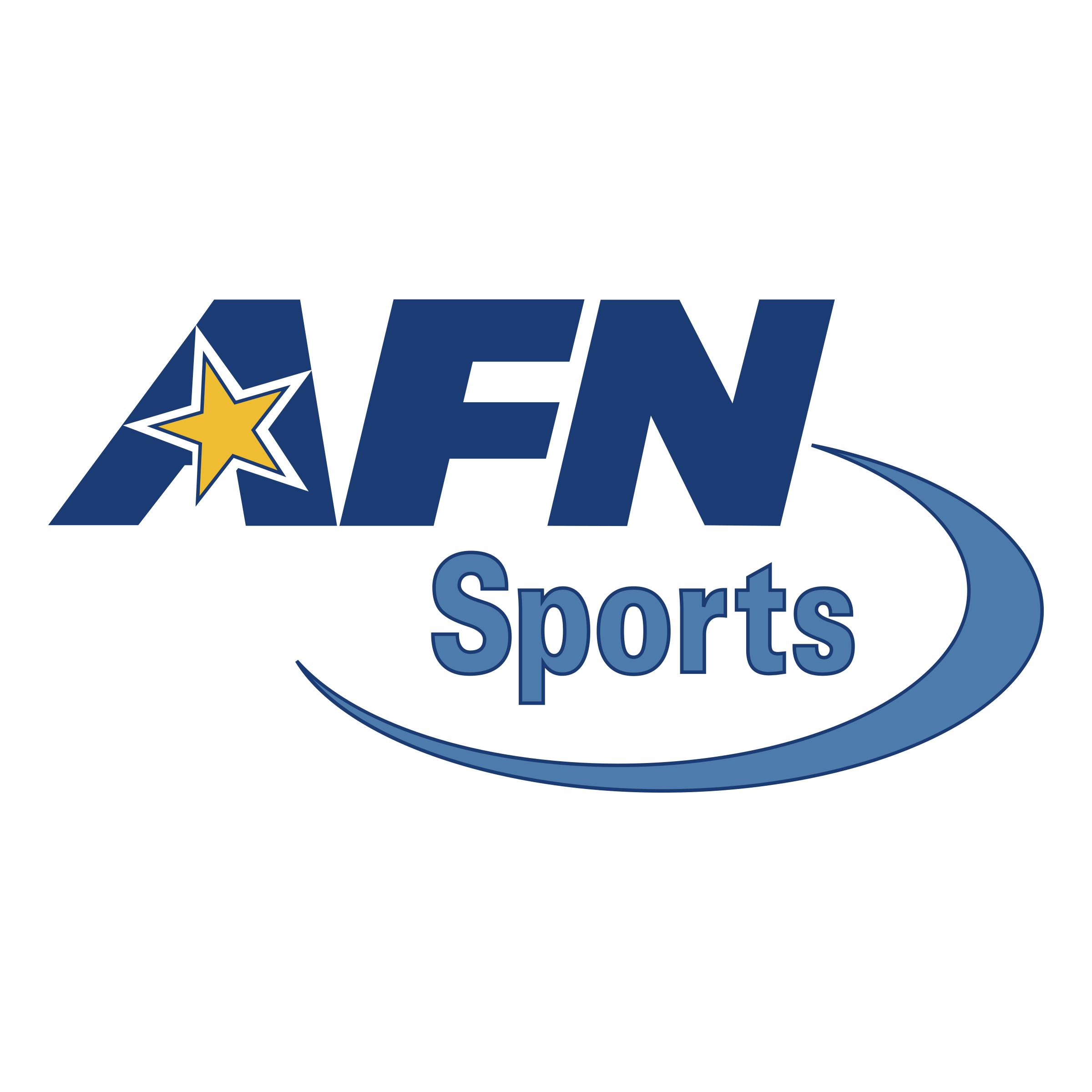 AFN Sports Logo PNG Transparent SVG Vector