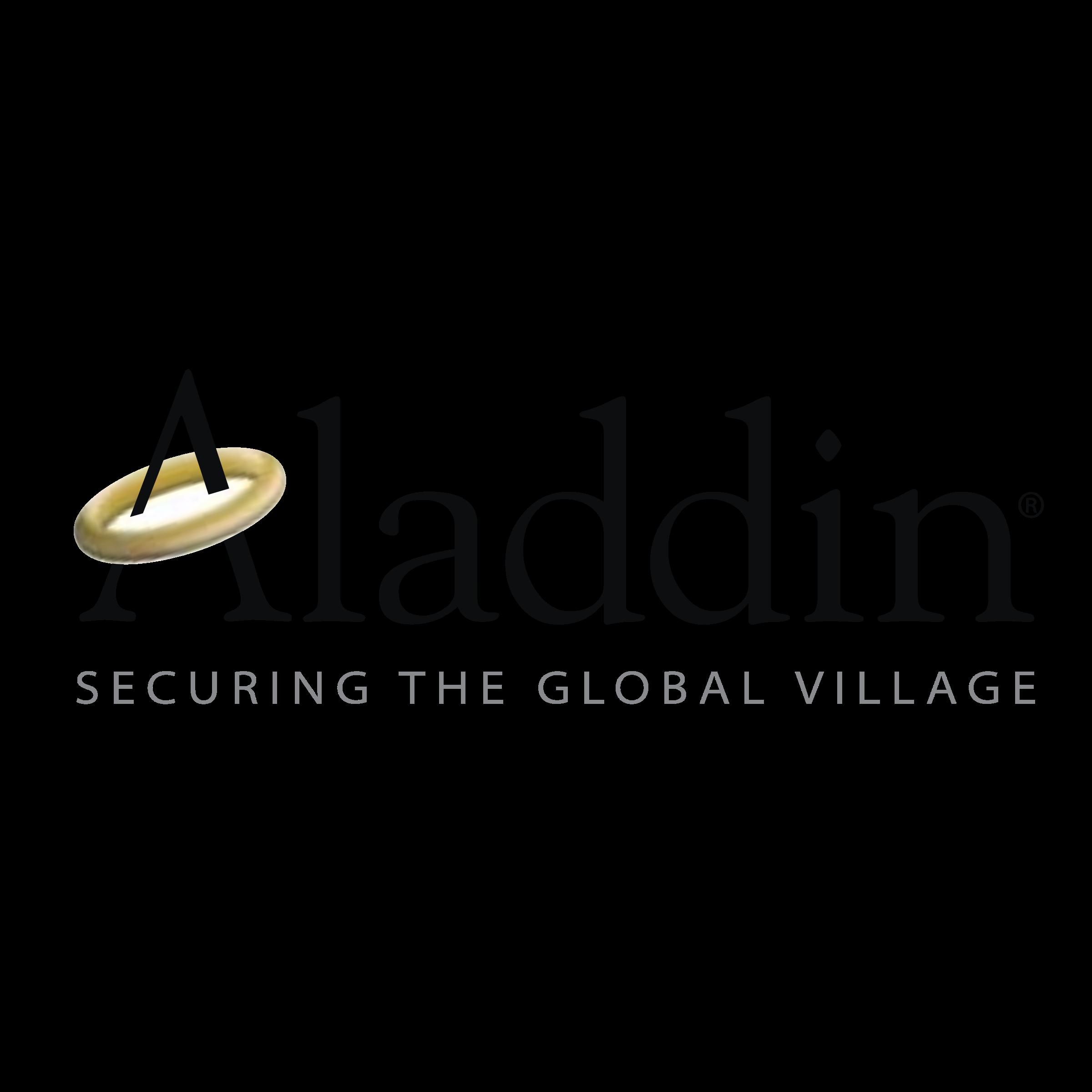 Aladdin Knowledge Systems 01 Logo PNG Transparent  for Aladdin Logo Vector  55nar