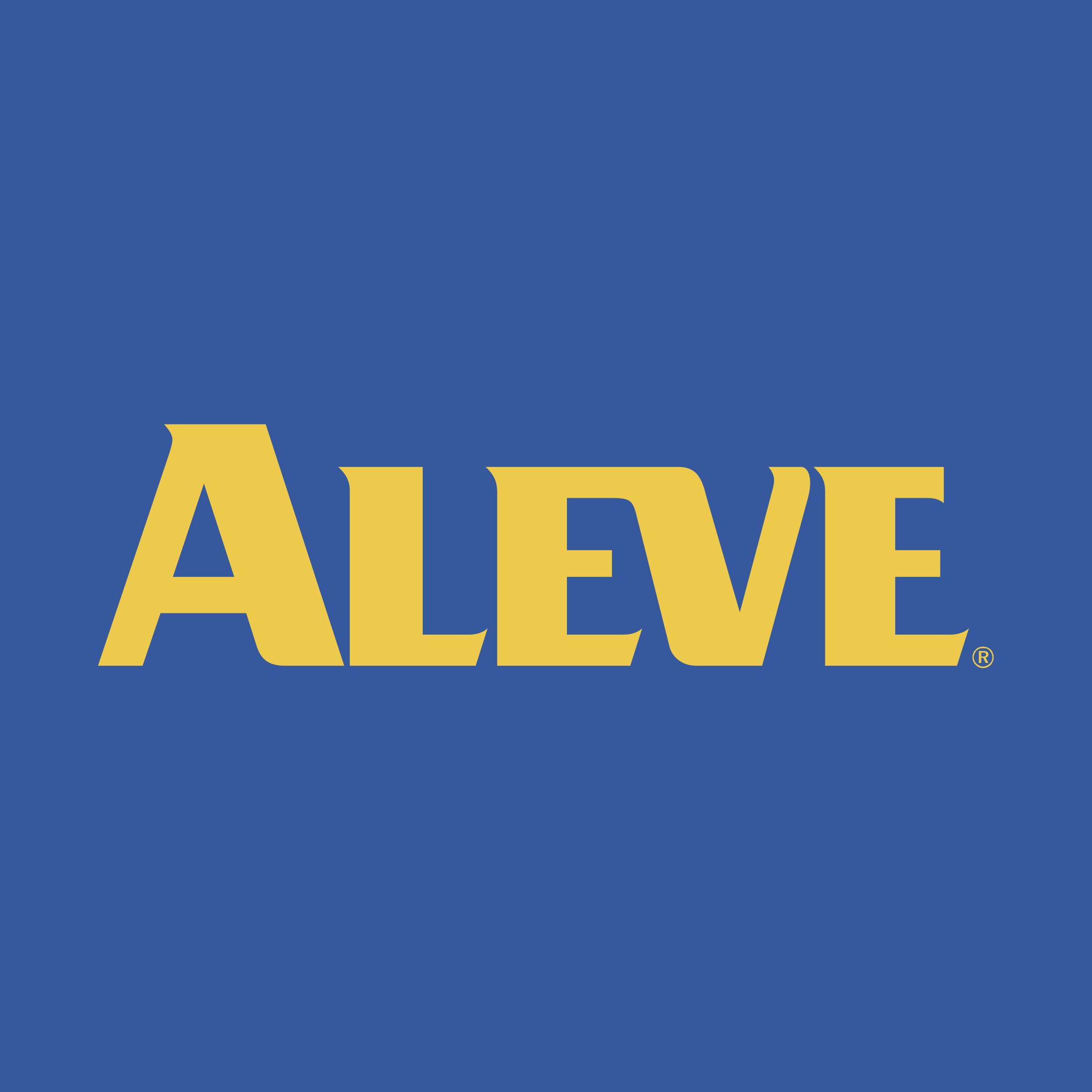 Aleve Logo PNG Transparent & SVG Vector - Freebie Supply