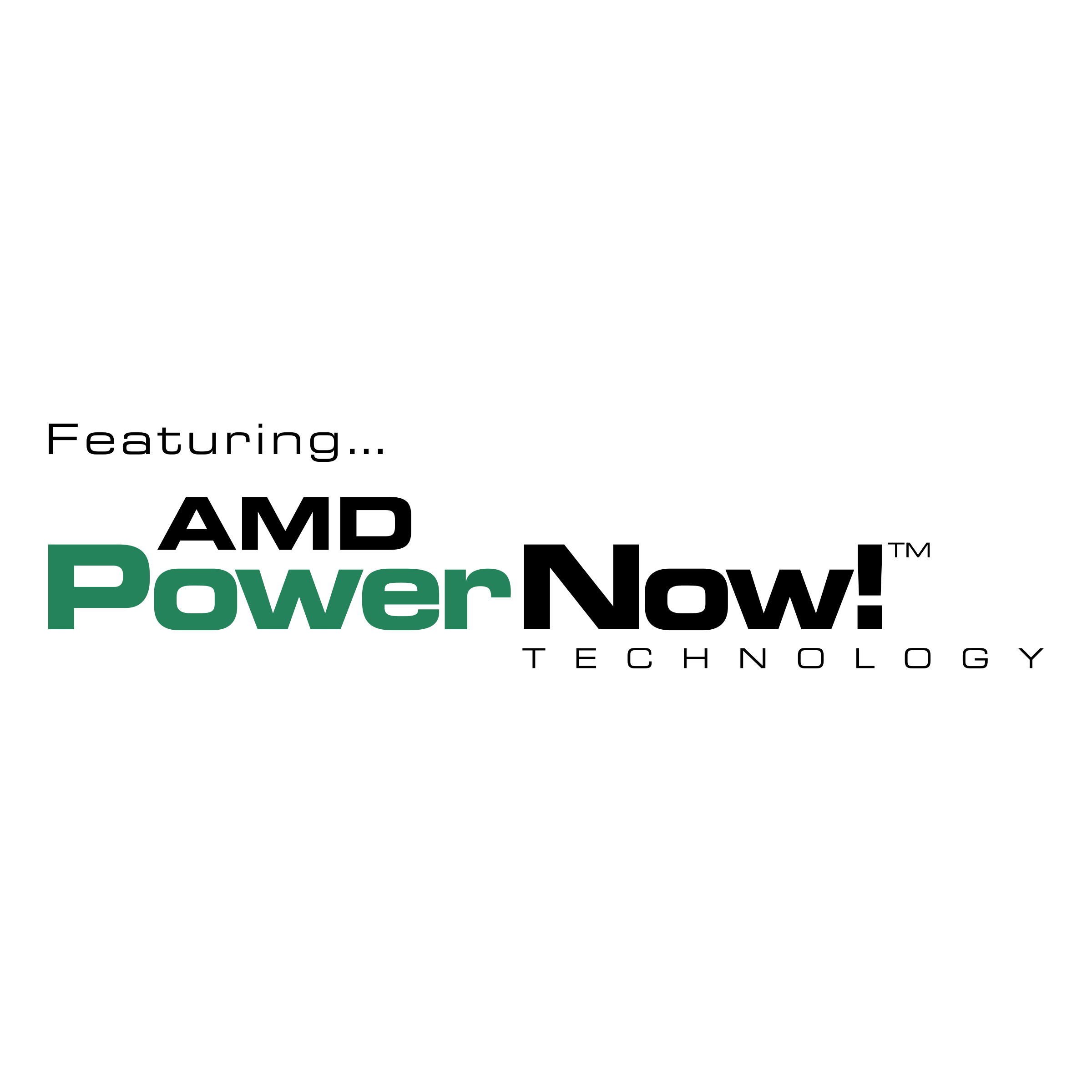 Amd Powernow Logo Png Transparent Svg Vector Freebie Supply