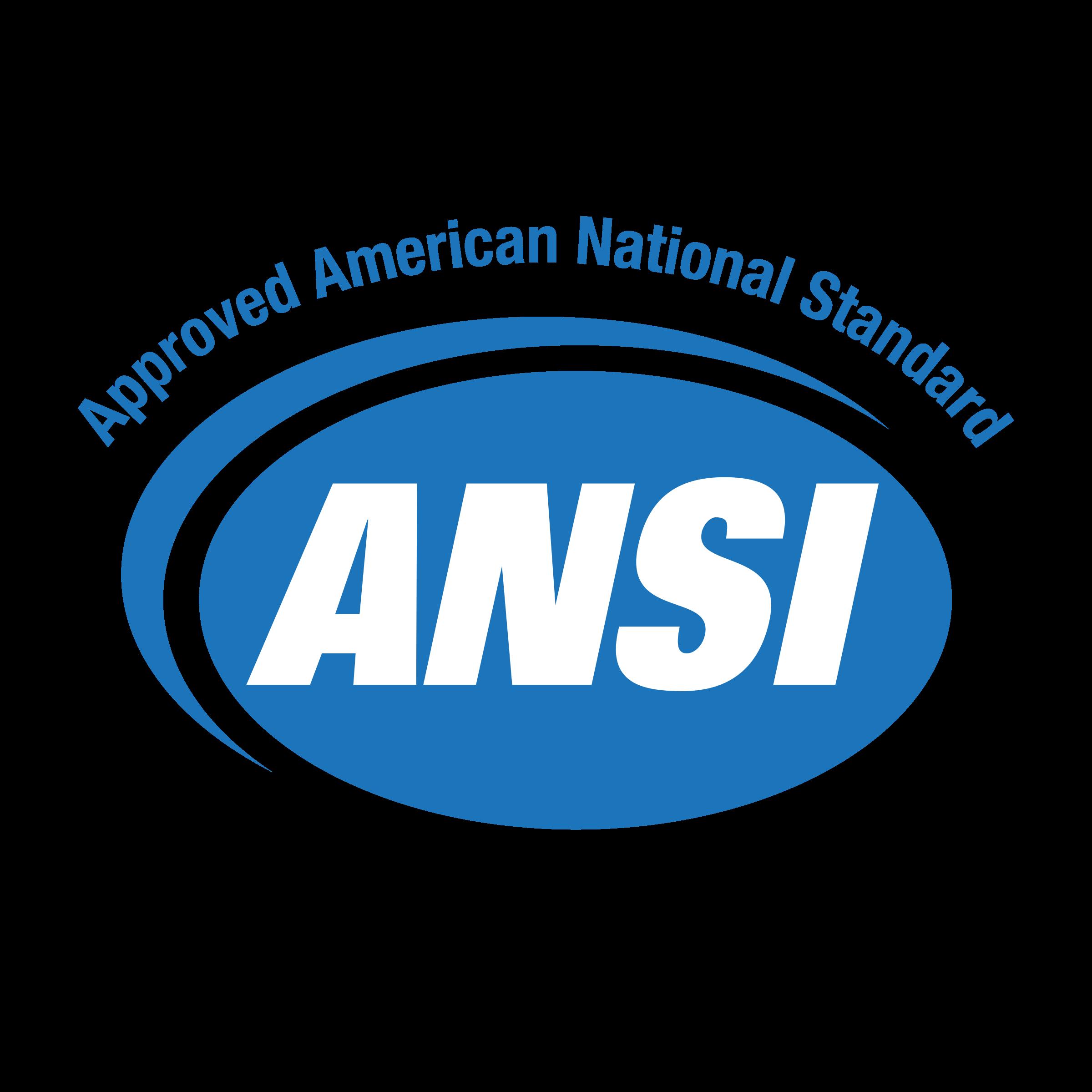 ANSI Approved American National Standard 01 Logo PNG Transparent ...