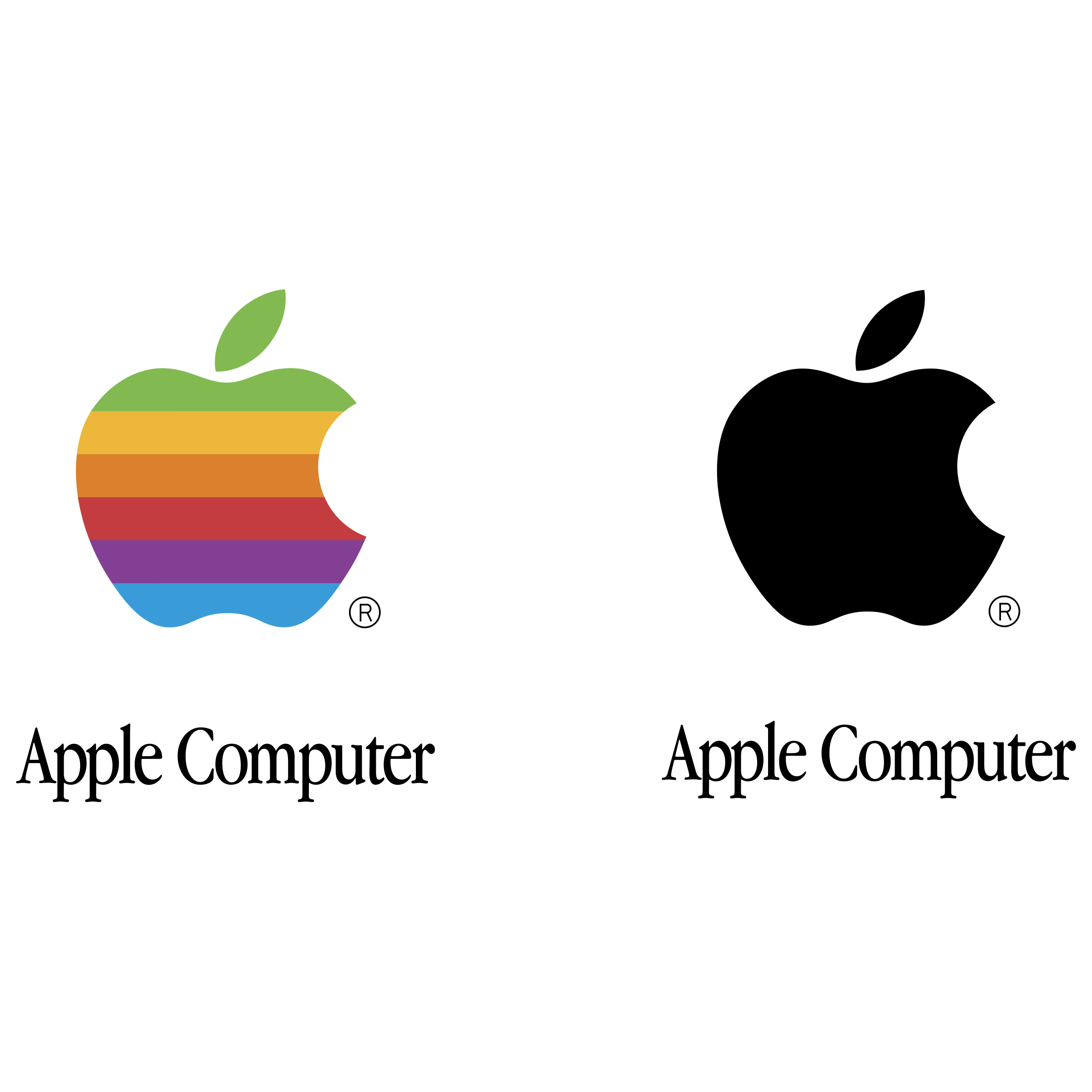 apple logo png transparent & svg vector - freebie supply