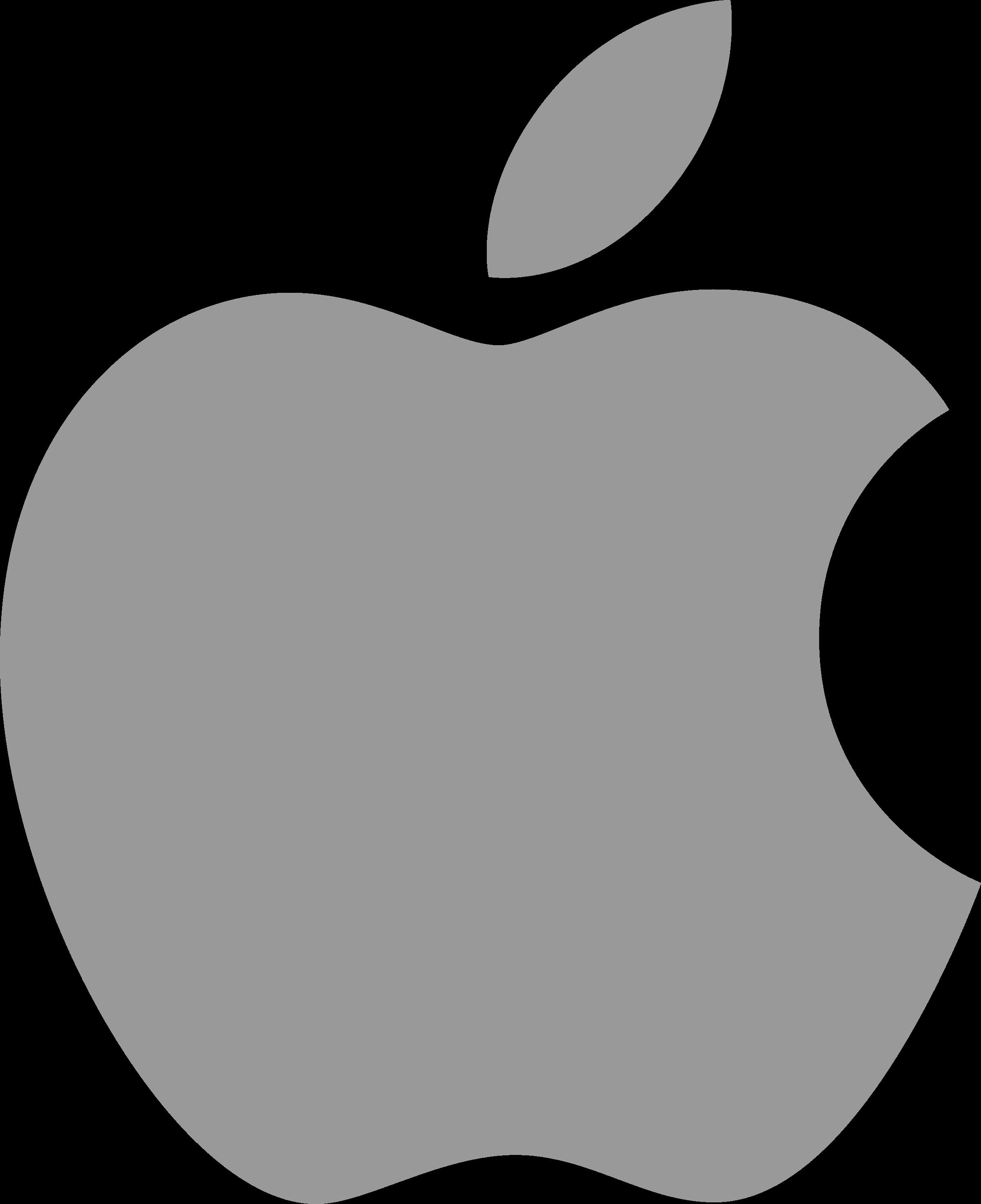 Apple Logo PNG Transparent & SVG Vector - Freebie Supply