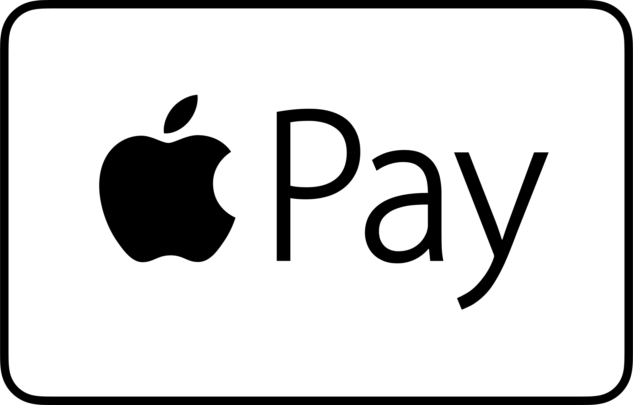 Apple Pay Payment Mark Logo PNG Transparent & SVG Vector - Freebie Supply