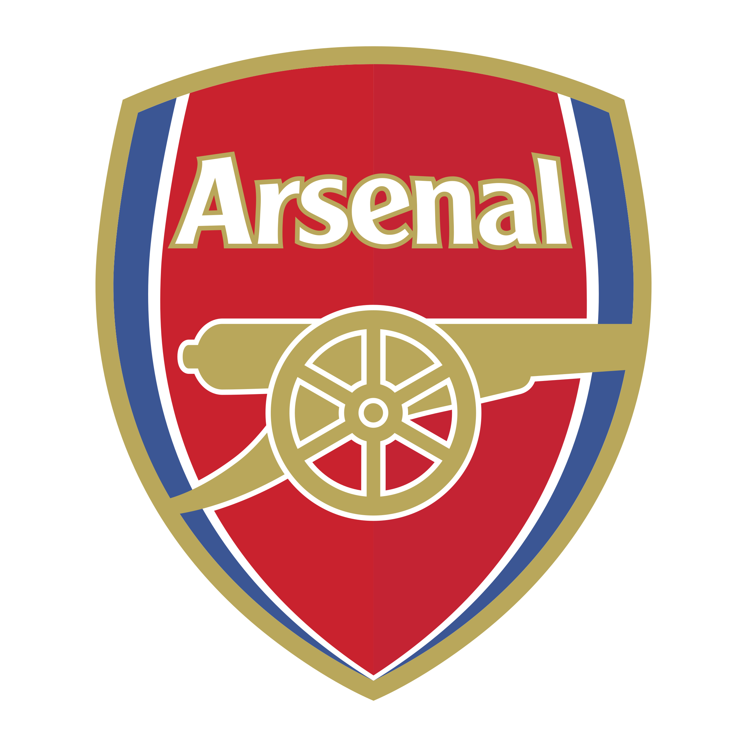 6c35a8d158dbf6 Arsenal Logo PNG Transparent & SVG Vector - Freebie Supply