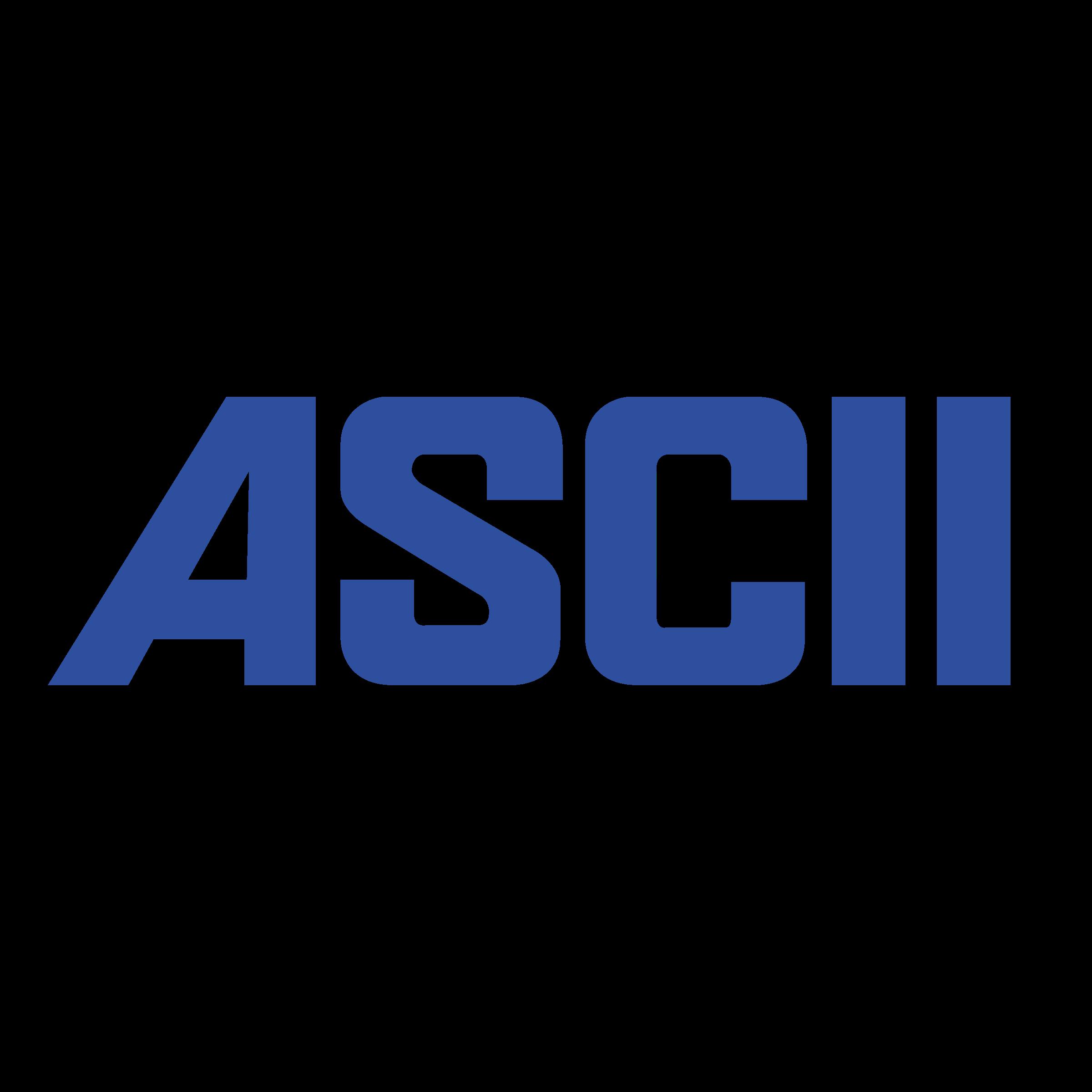 Ascii Logo Png Transparent Svg Vector Freebie Supply