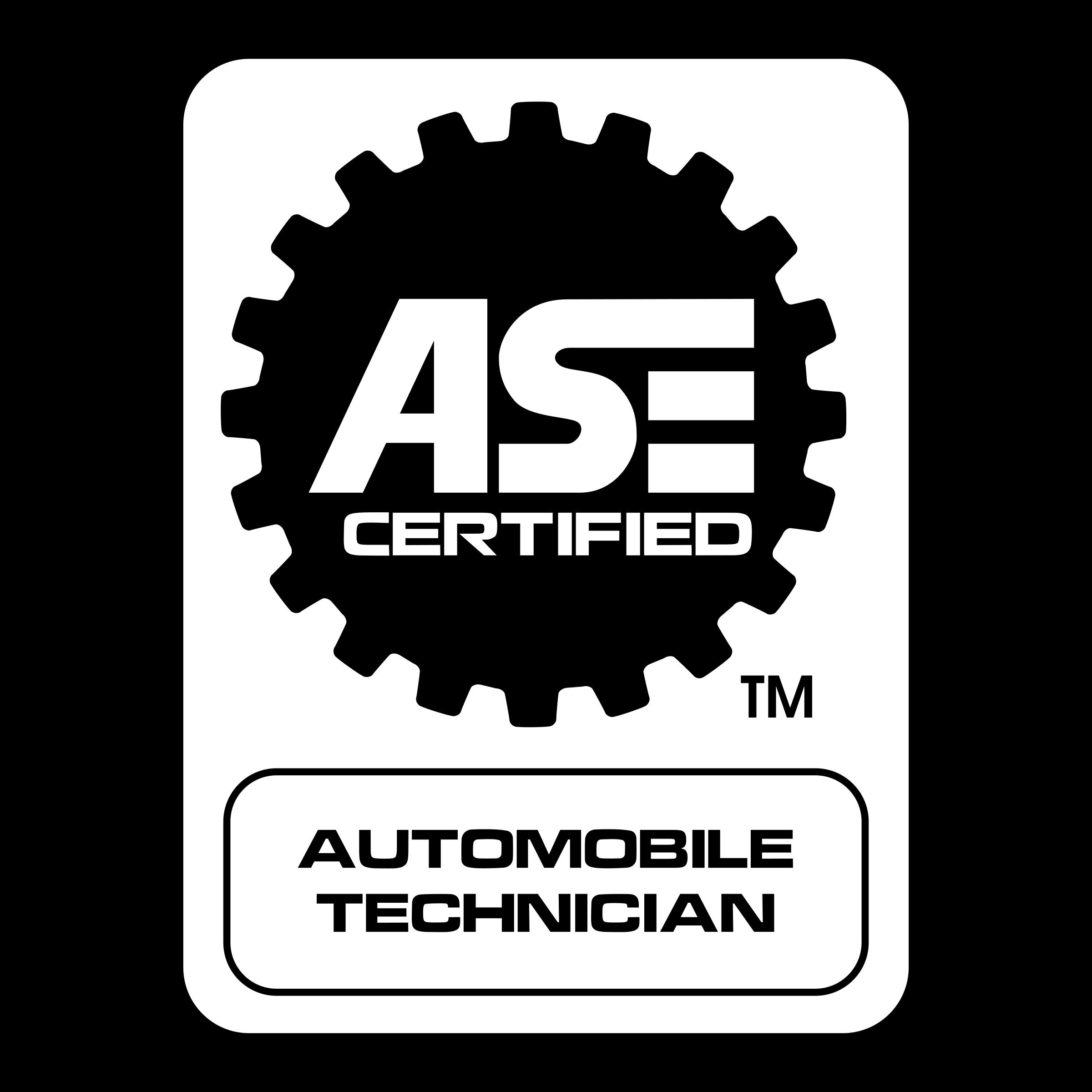 Ase Certified 02 Logo Png Transparent Svg Vector Freebie Supply
