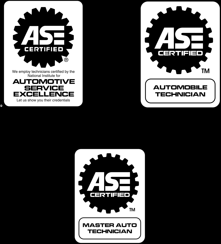 Ase Certified Logo Png Transparent Svg Vector Freebie Supply