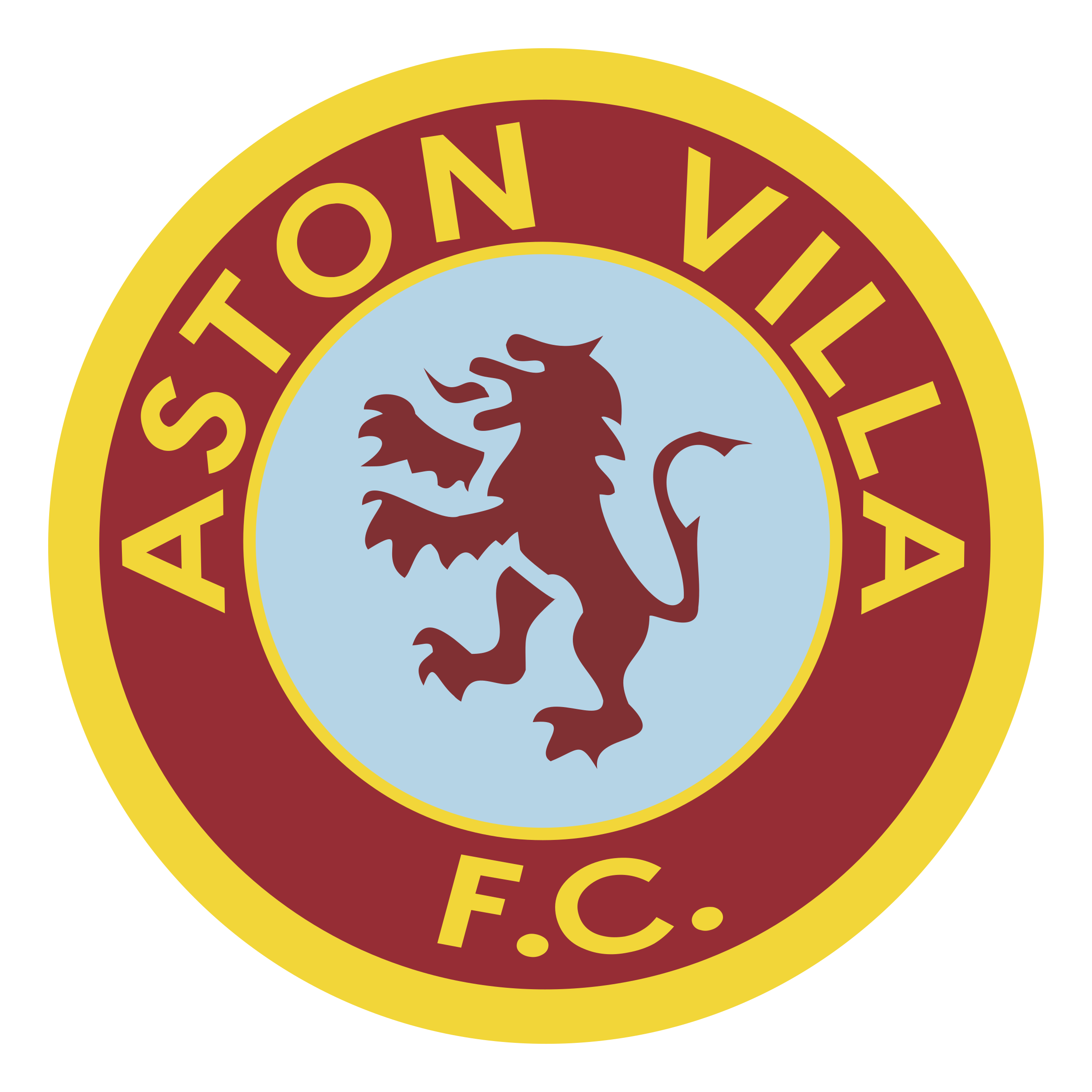 Aston Villa FC Logo PNG Transparent & SVG Vector - Freebie ...