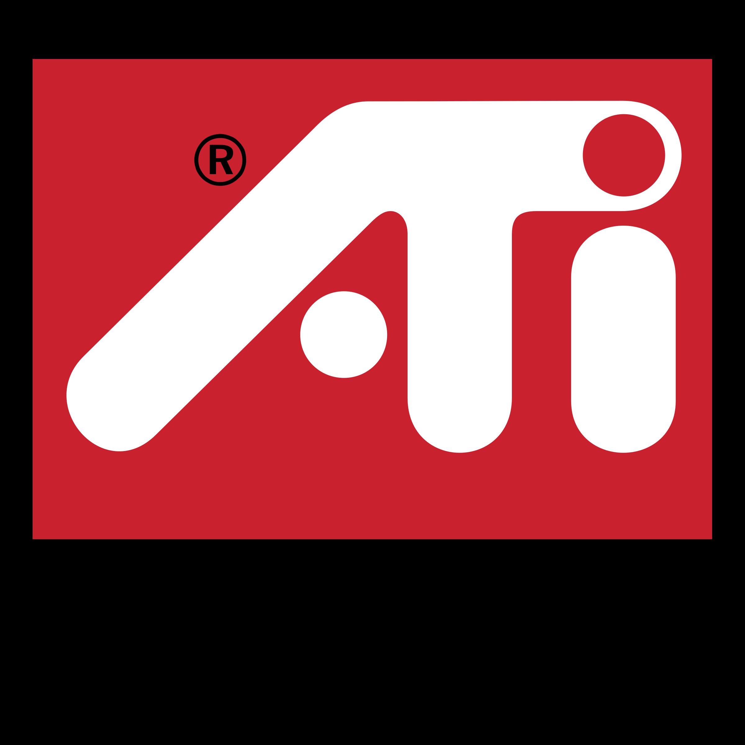 ATI Radeon Logo PNG Transparent