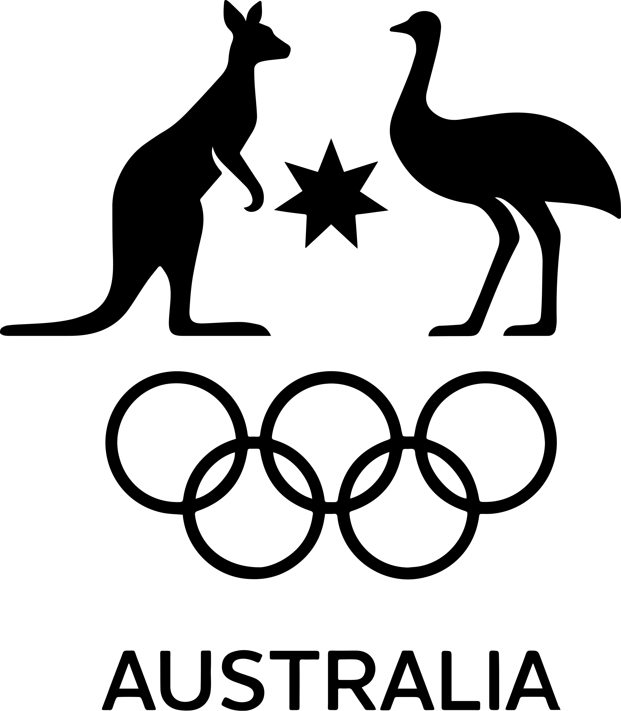 Australian Olympic Comittee Logo Png Transparent Svg Vector Freebie Supply