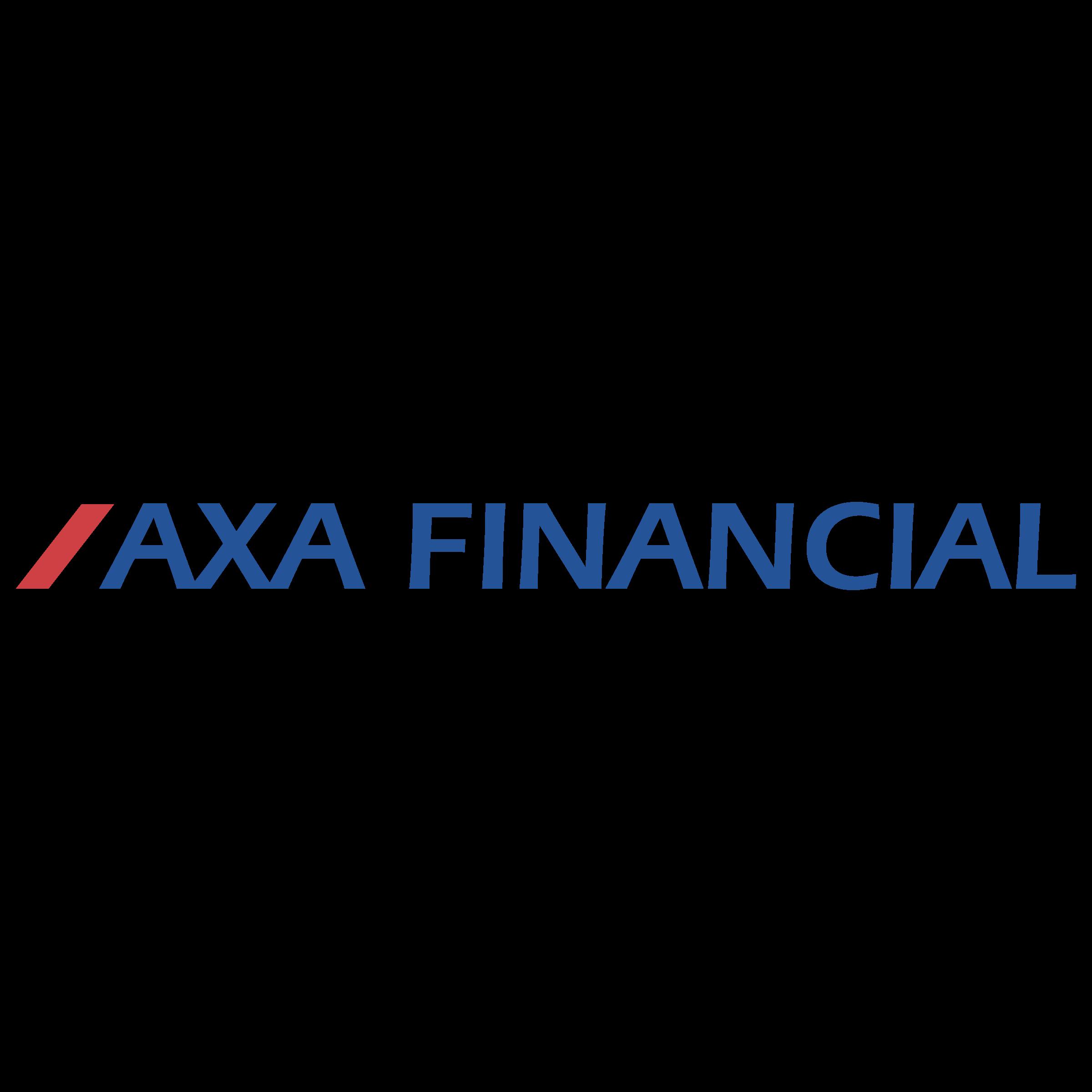axa financial AXA Financial Logo PNG Transparent