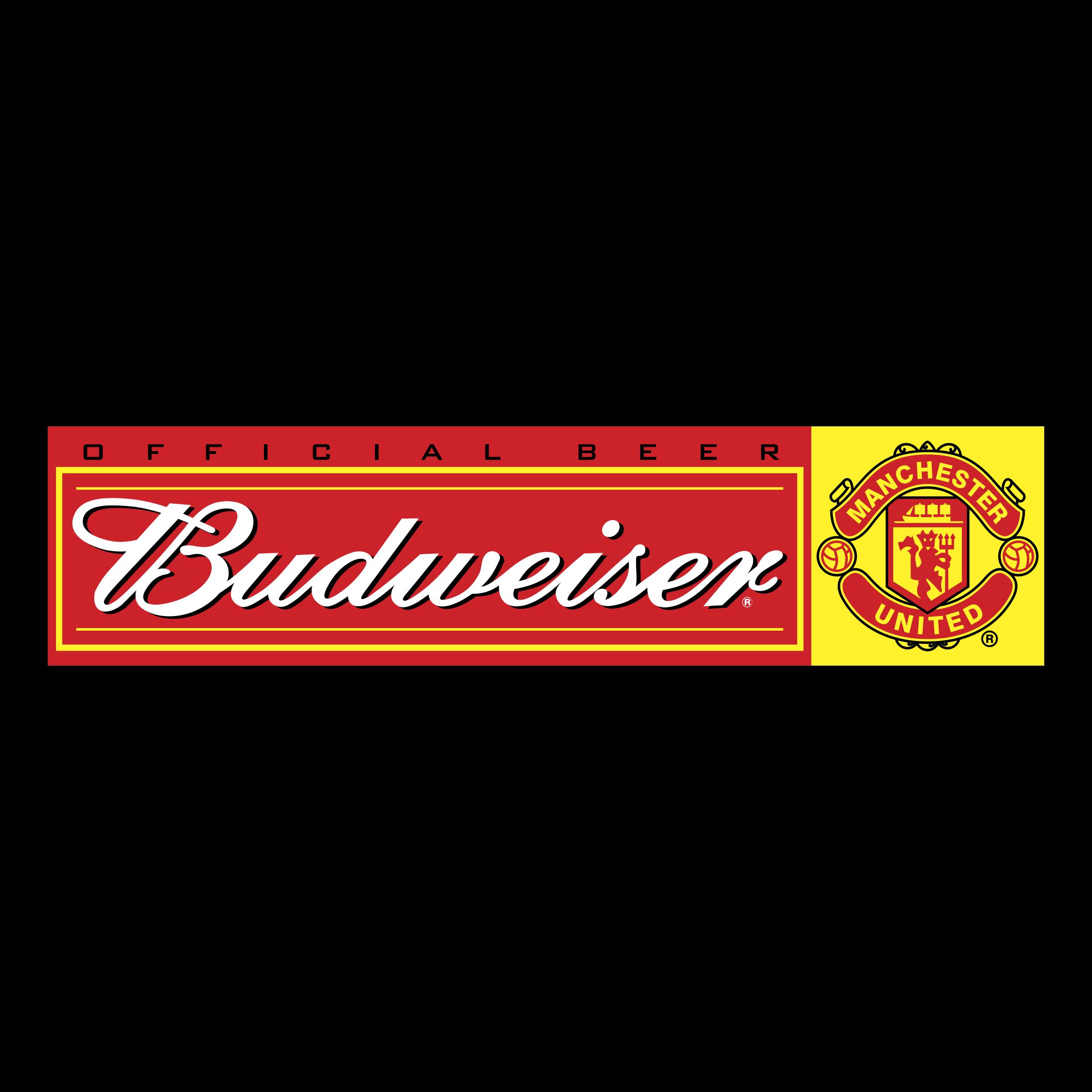 Budweiser Manchester United Logo Png Transparent Svg Vector Freebie Supply