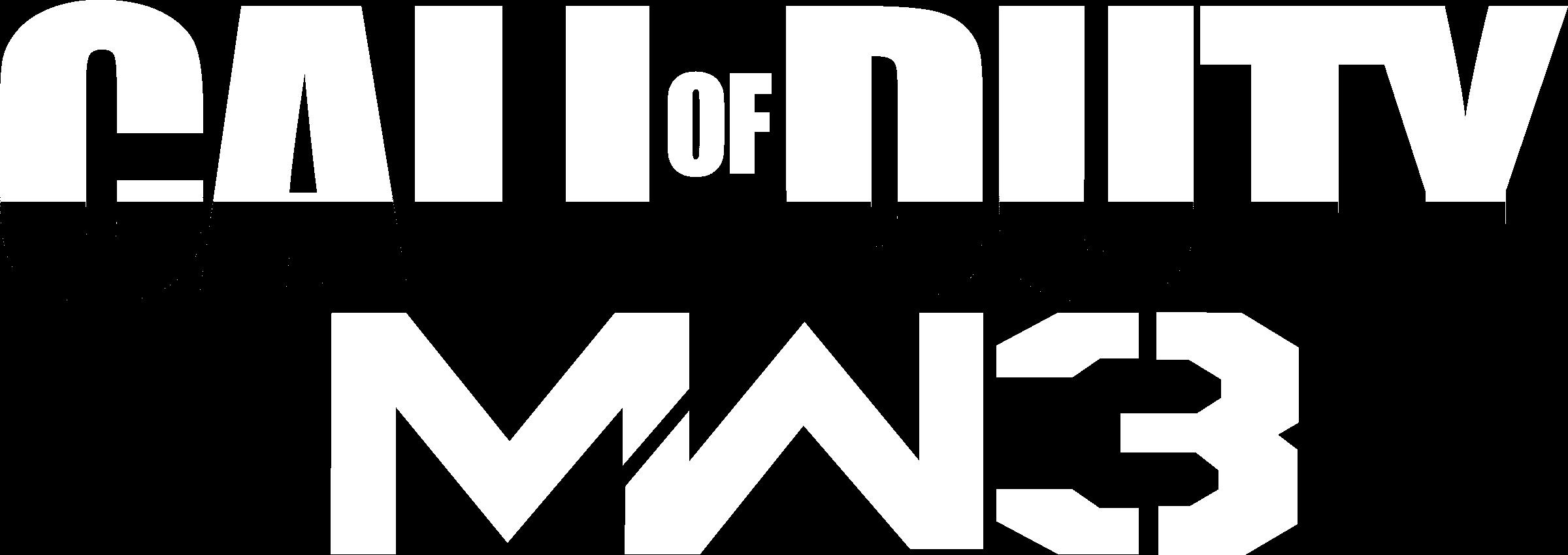 Call Of Duty Modern Warfare 3 Logo Png Transparent Svg Vector