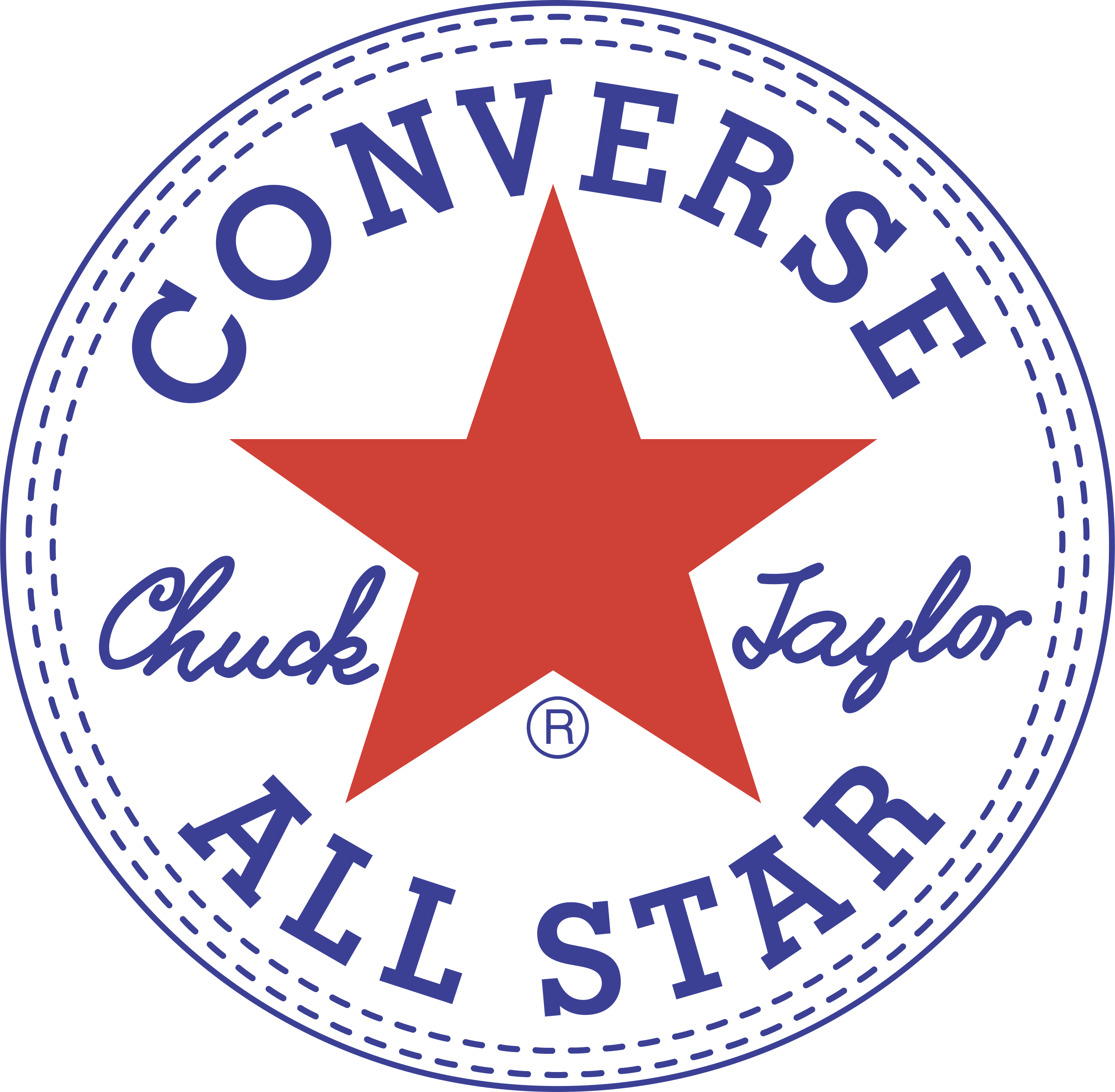 Converse All Star Logo Png Transparent Amp Svg Vector