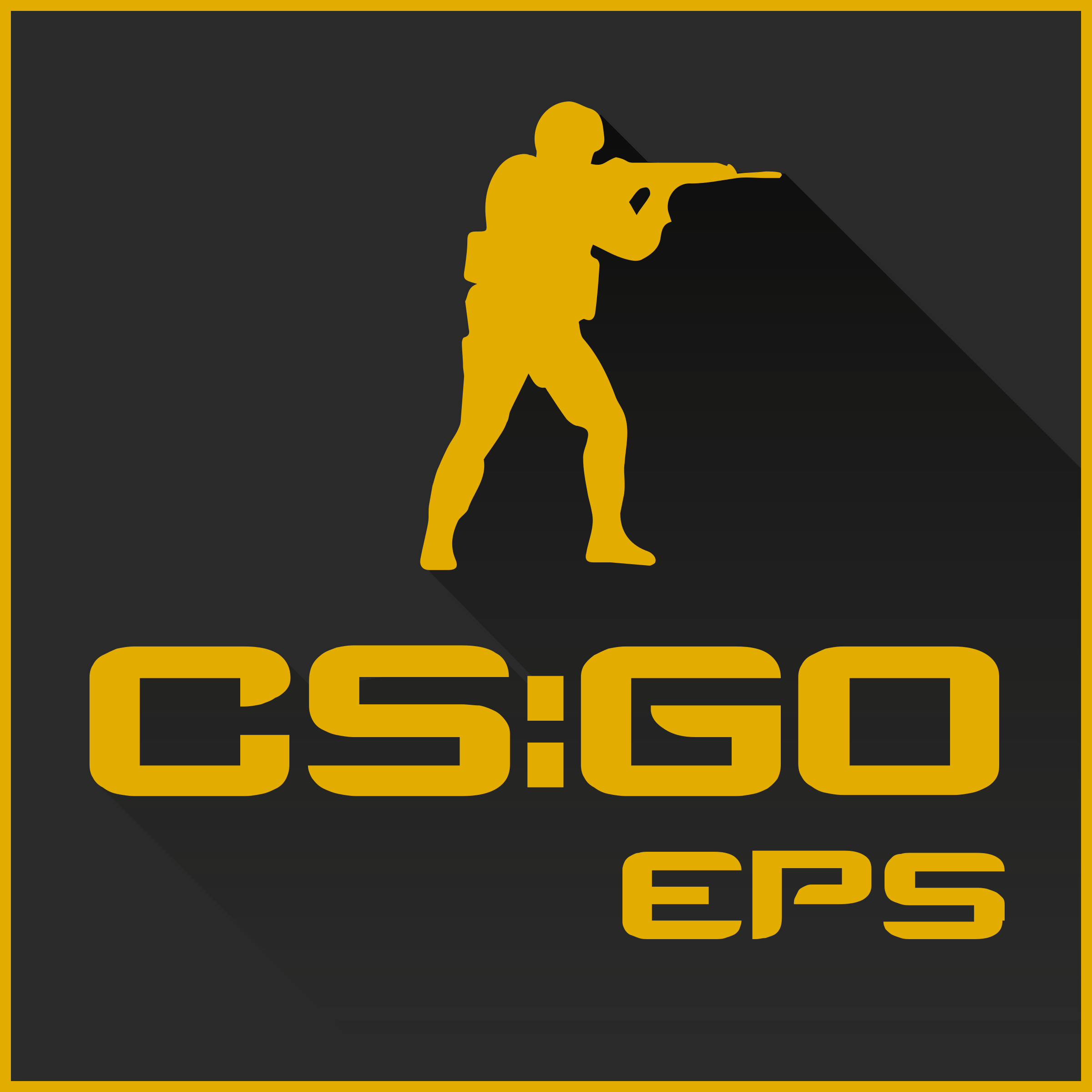 Counter Strike Global Offensive 3 Logo PNG Transparent ...