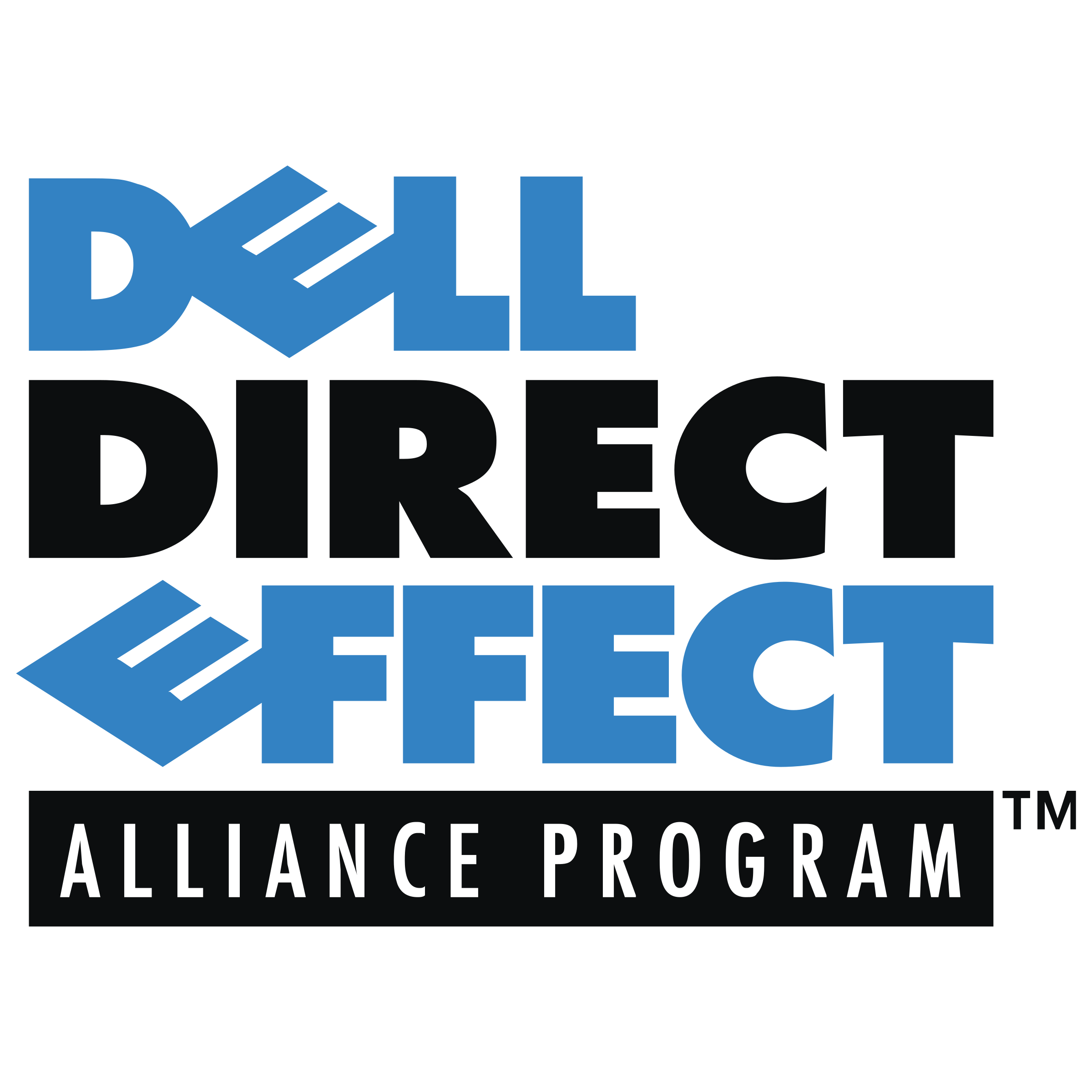 Dell Direct Effect Logo PNG Transparent & SVG Vector