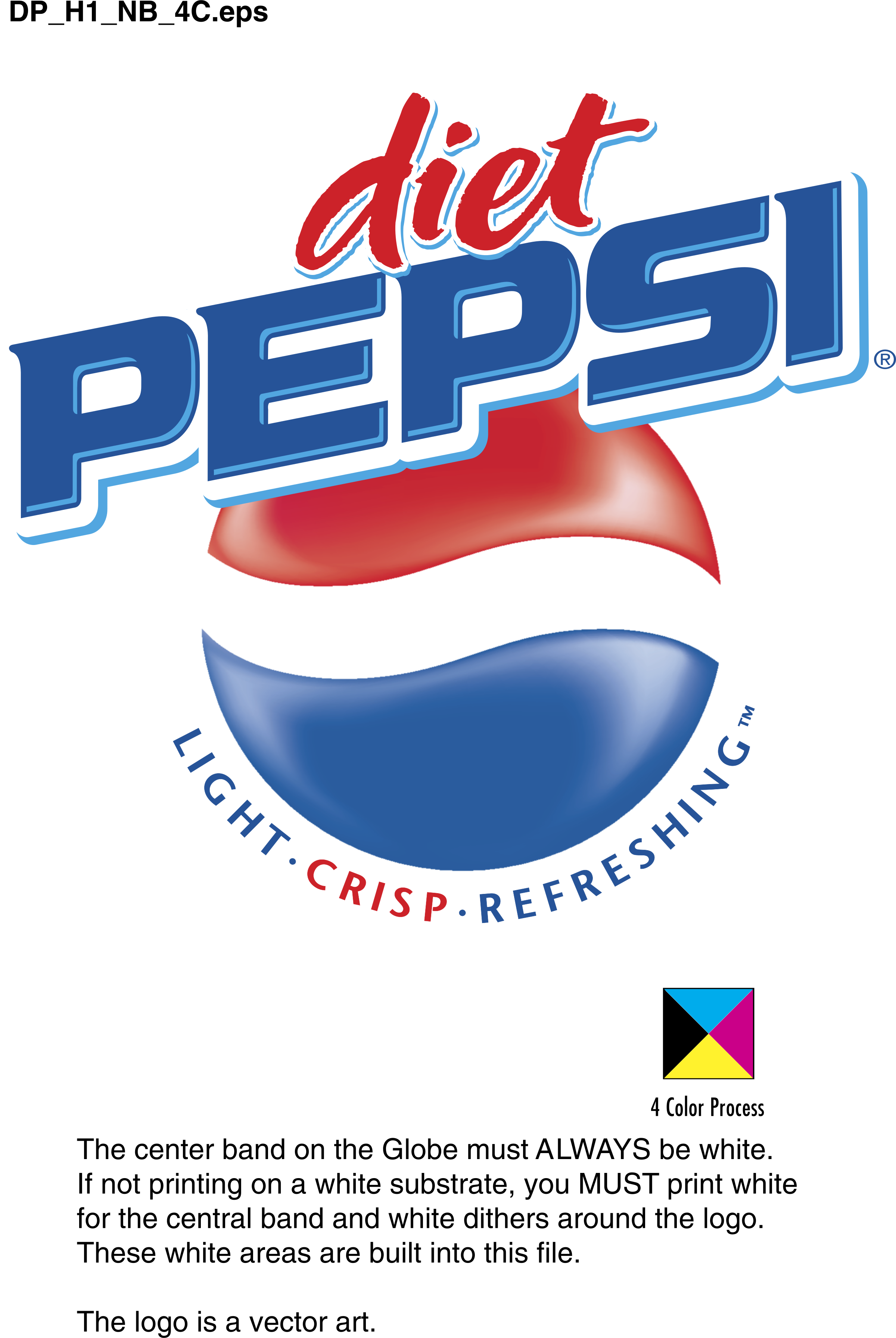 DIET PEPSI Logo PNG Transparent