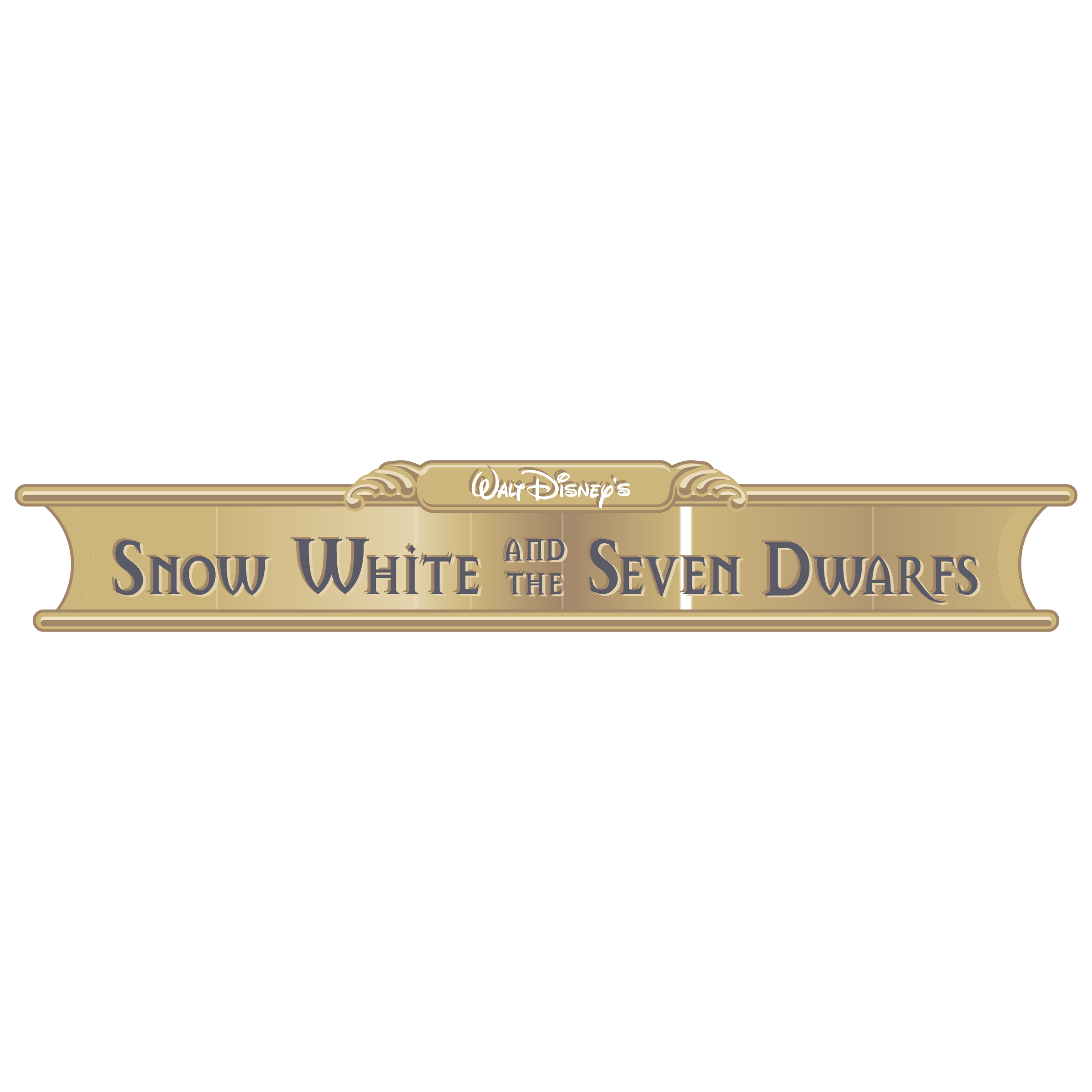 Disney's Snow White and the Seven Dwarfs Logo PNG Transparent & SVG