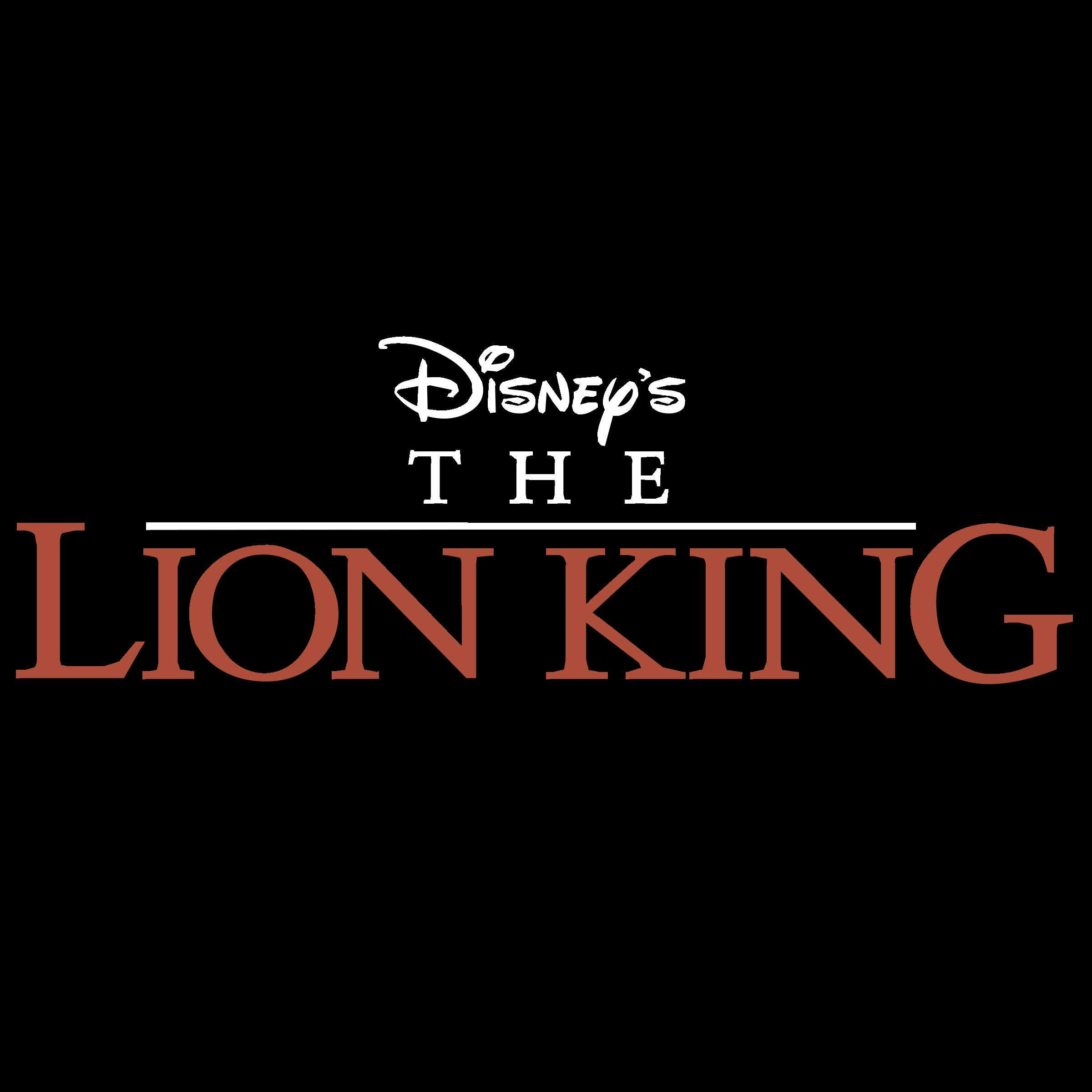 Disney's The Lion King Logo PNG Transparent & SVG Vector - Freebie