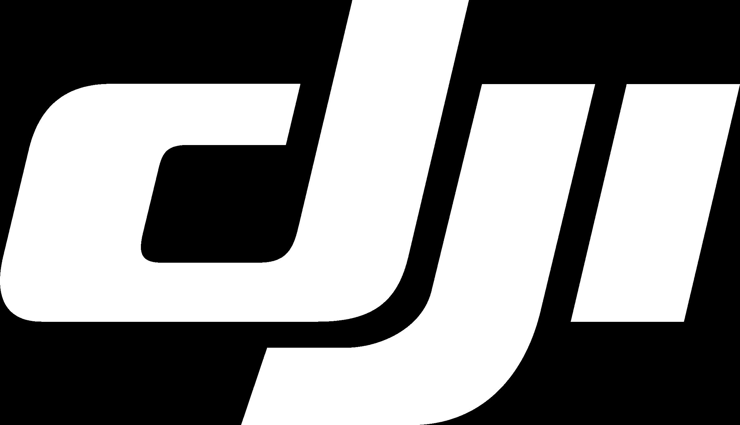 DJI Logo Black And White