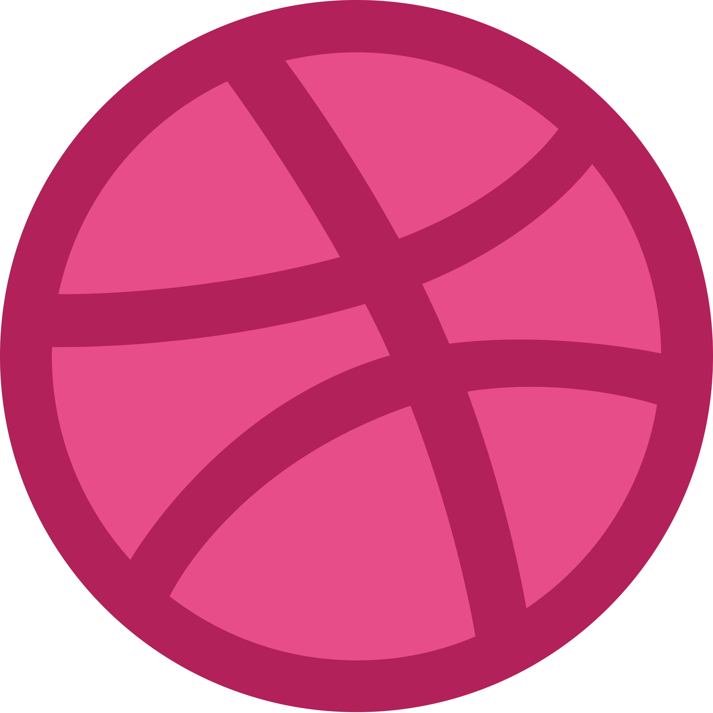 Putting my work on dribbble