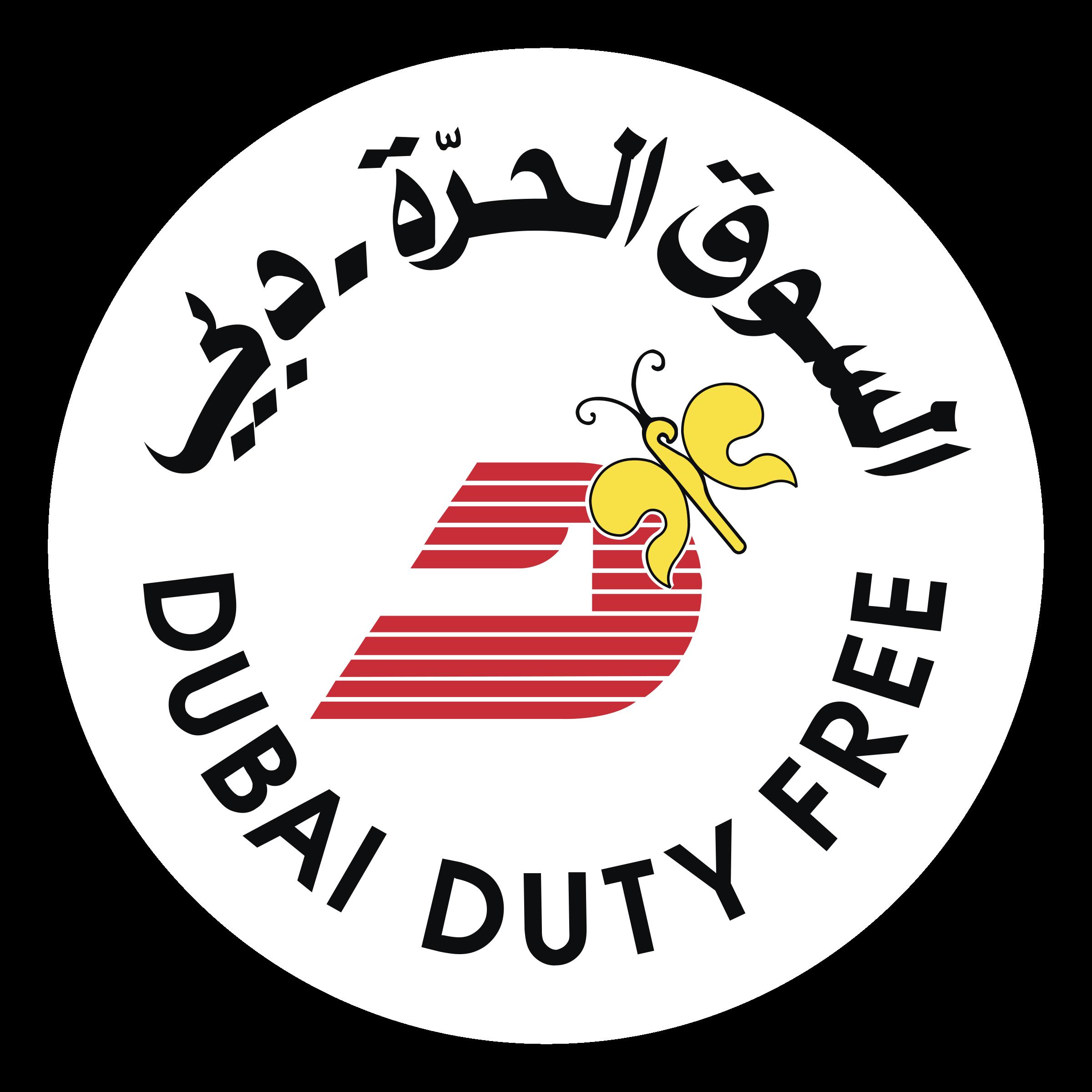 dubai duty free logo png transparent svg vector freebie supply dubai duty free logo png transparent