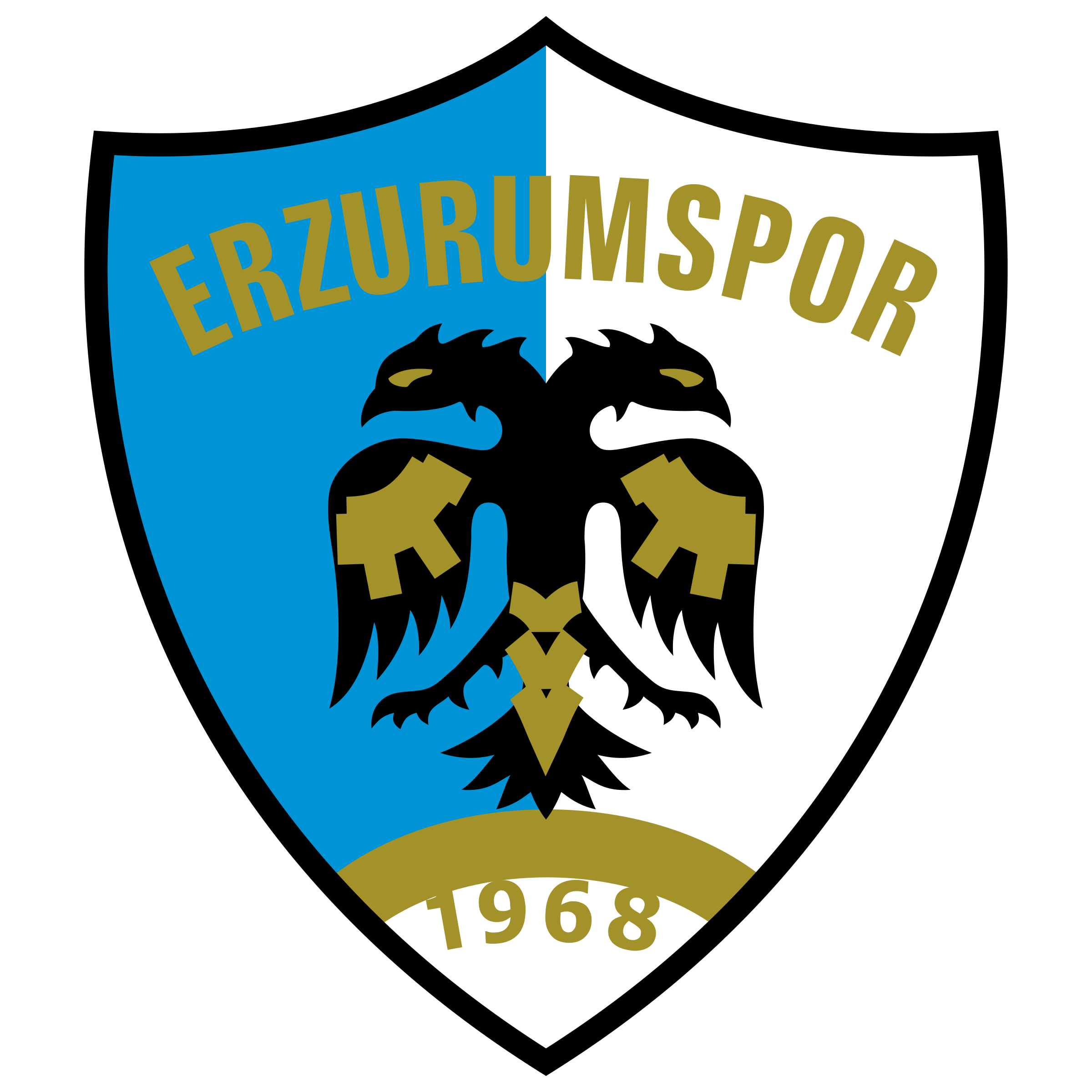 Erzurumspor Logo PNG Transparent U0026 SVG Vector Freebie Supply
