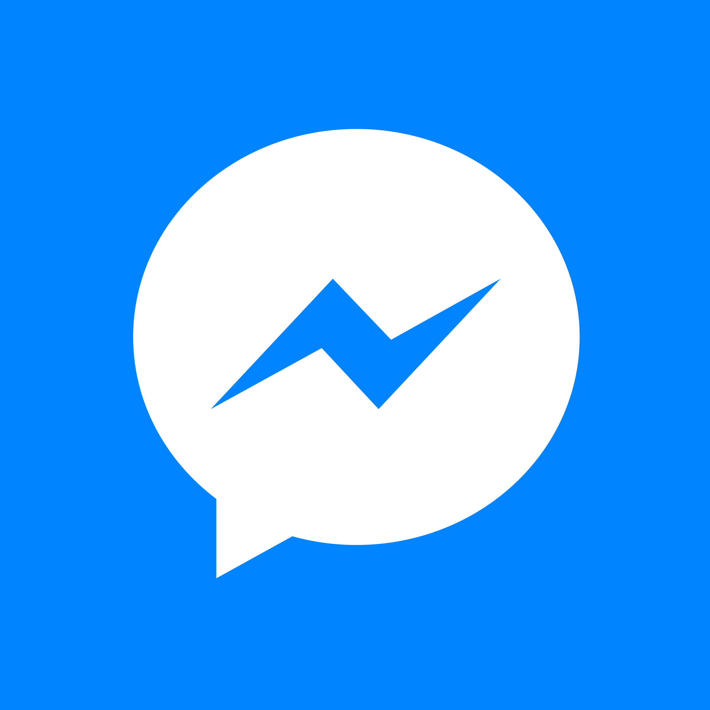 facebook messenger white logo png transparent amp svg vector