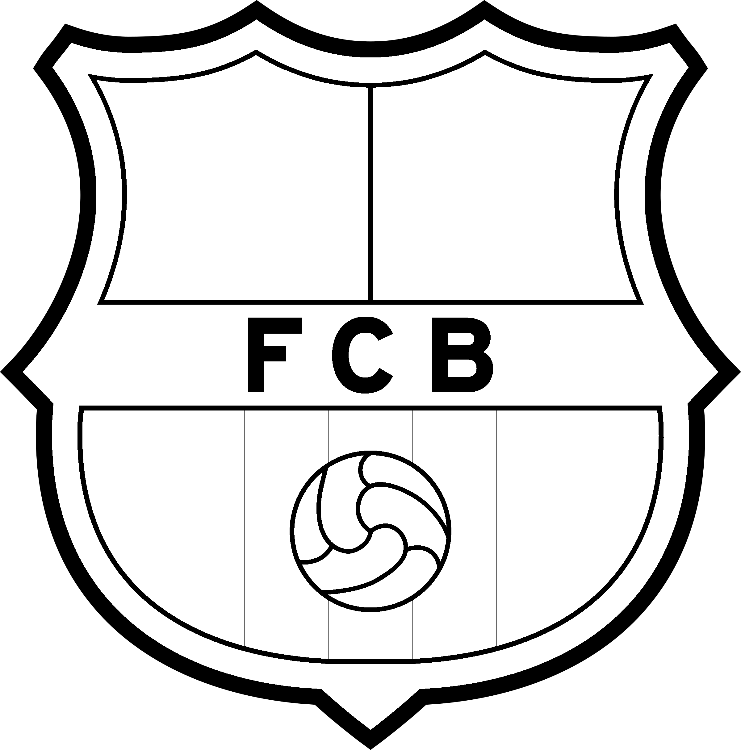 Fc Barcelona Logo Png Transparent Svg Vector Freebie Supply