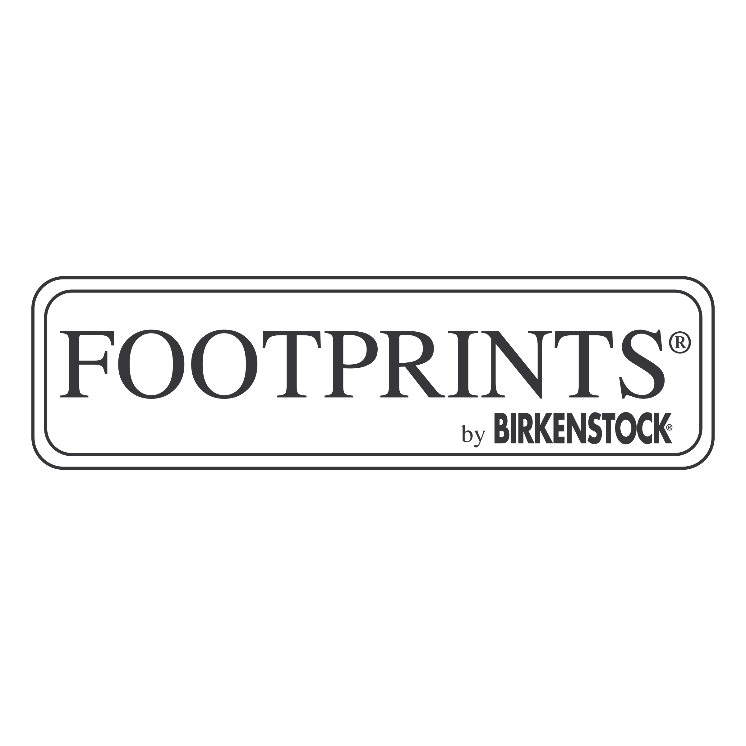 Footprints By Birkenstock Logo PNG Transparent