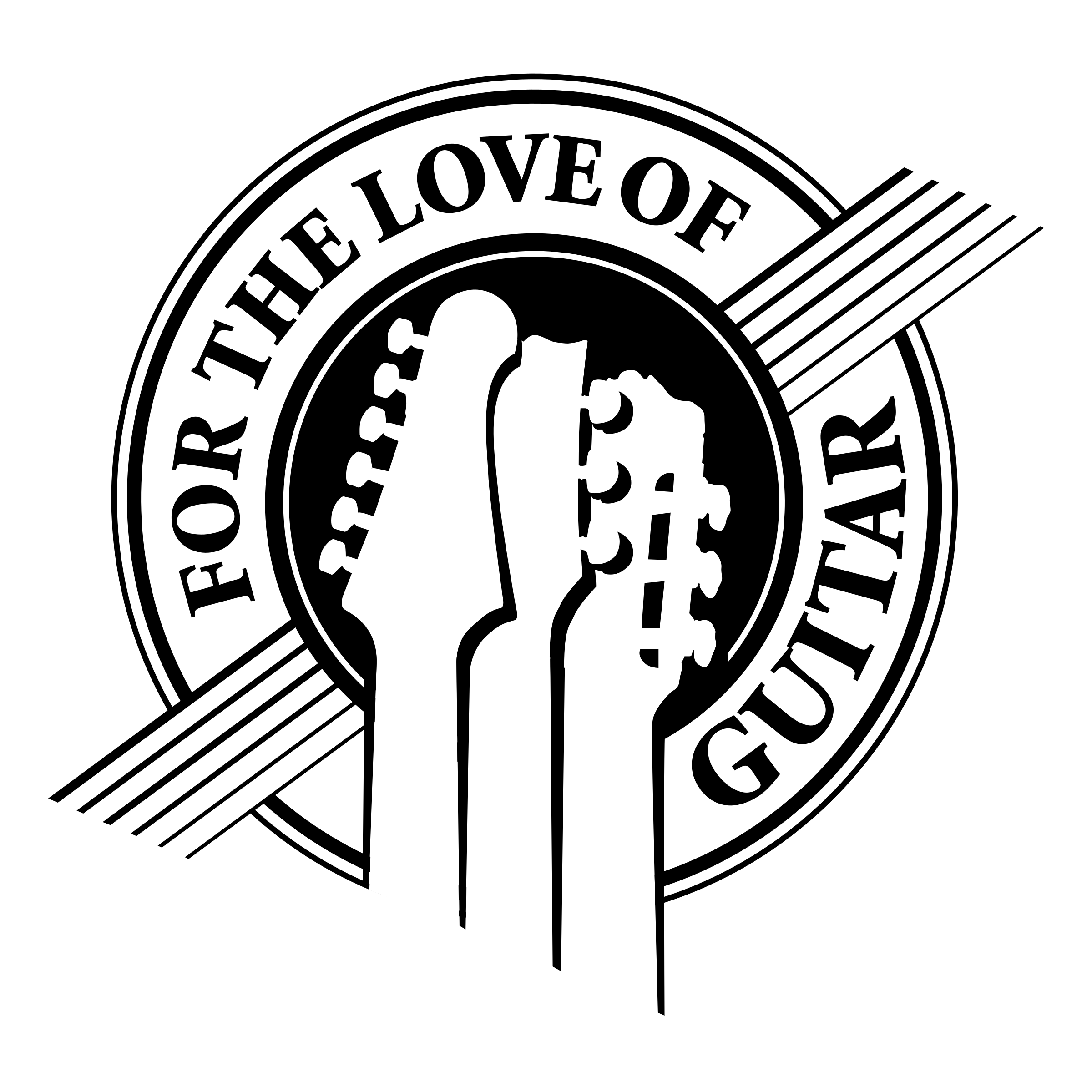 for the love of guitar logo png transparent  u0026 svg vector