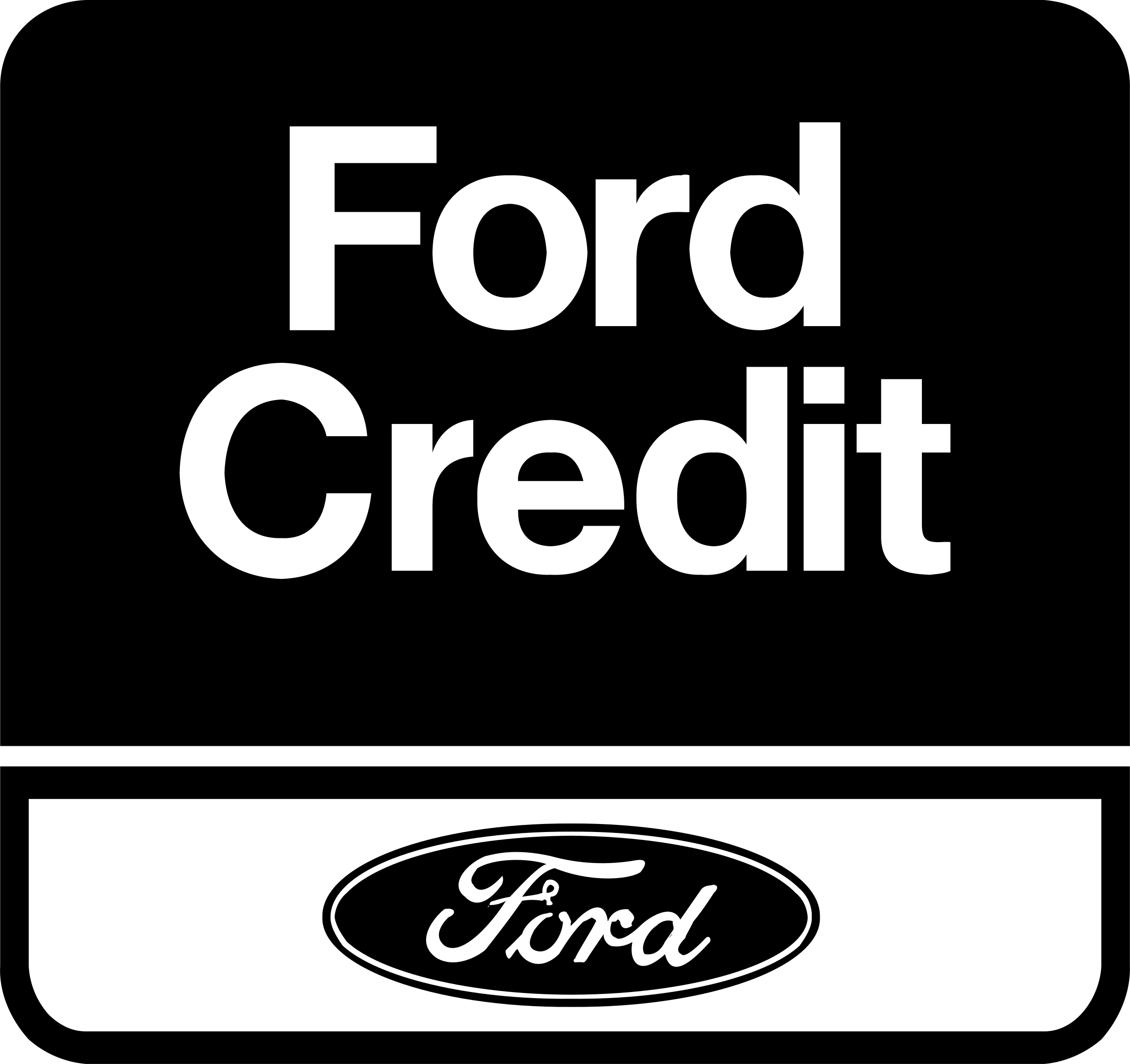 Ford credit logo png transparent