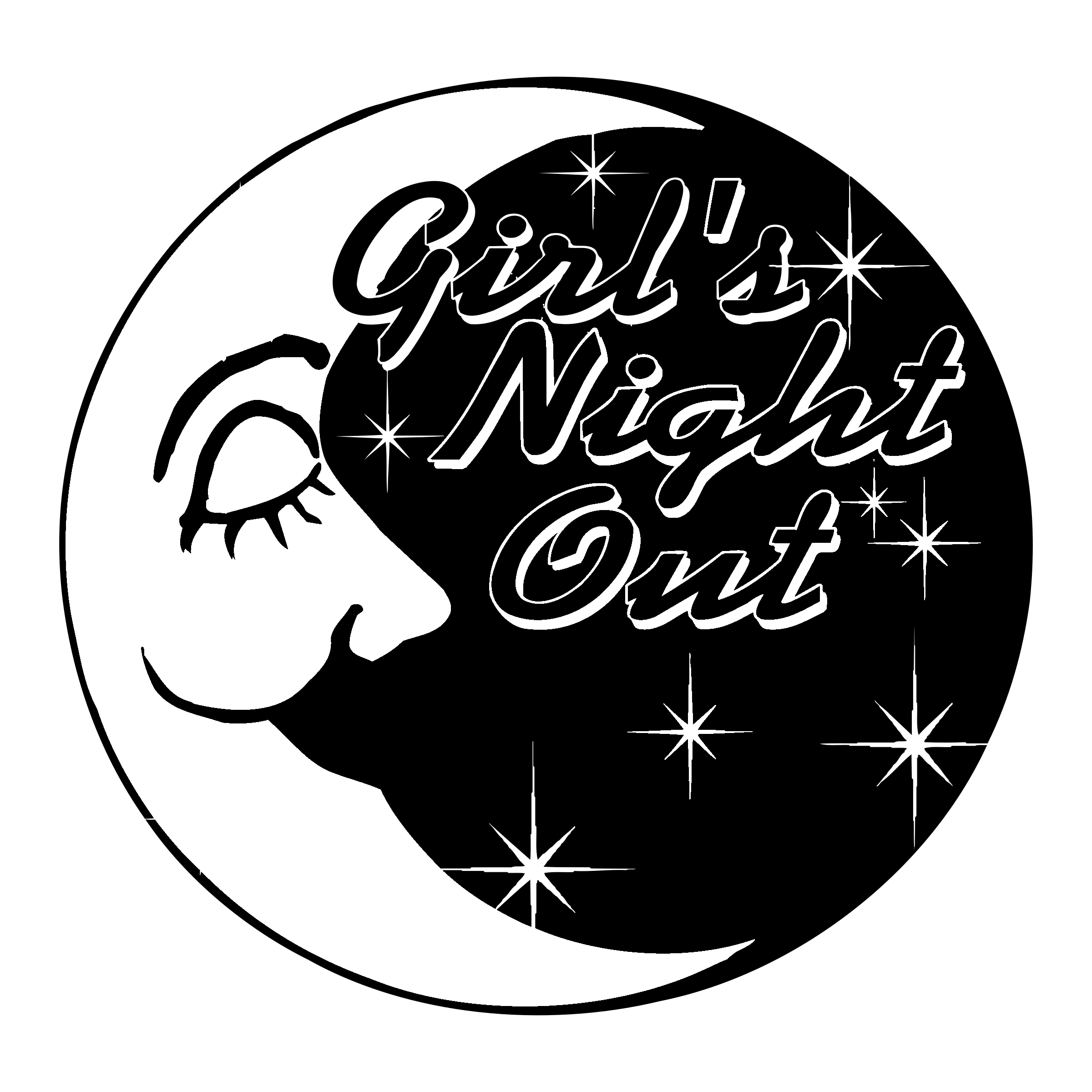 Girl's Night Out Logo PNG Transparent & SVG Vector ...