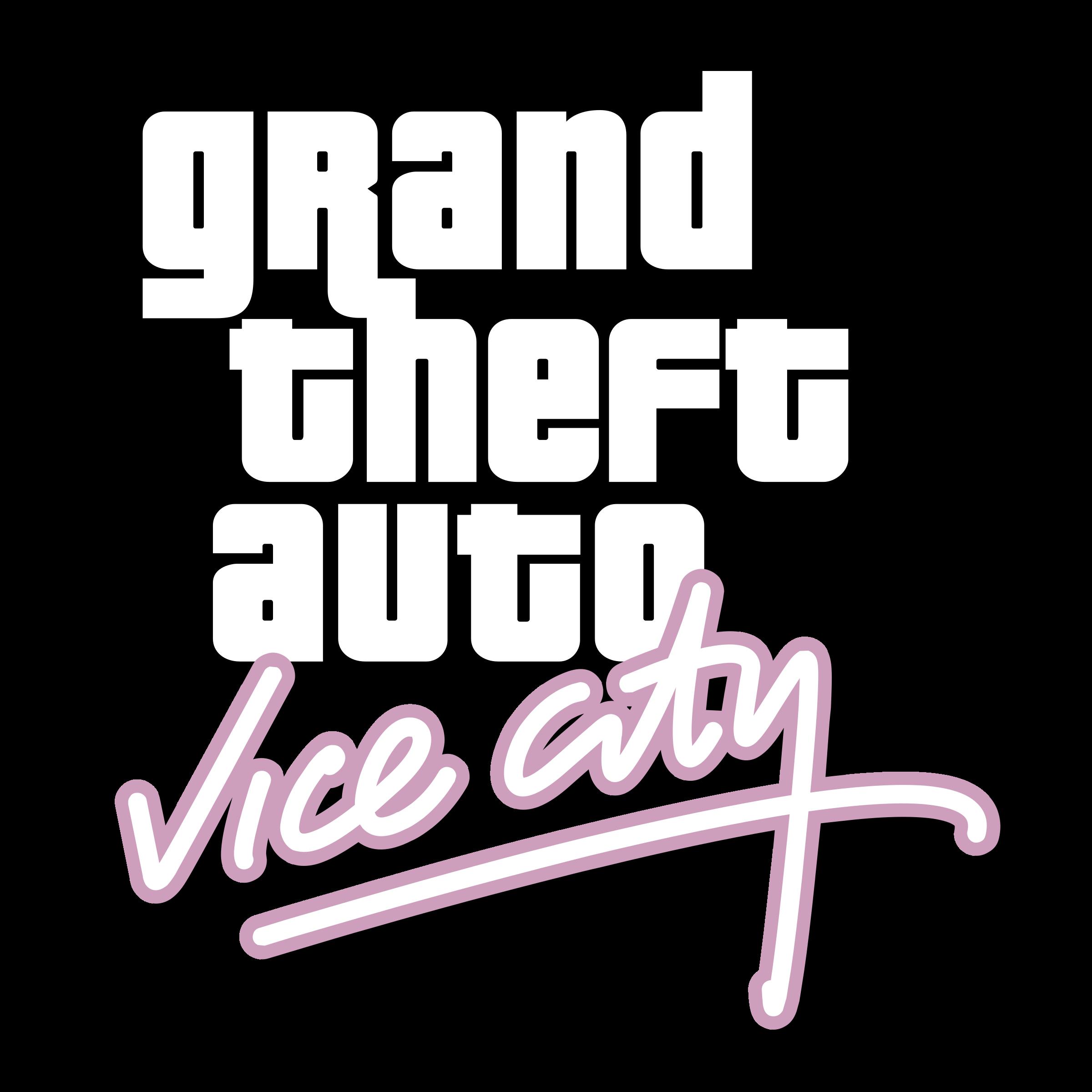 Grand Theft Auto Vice City Logo Png Transparent Svg Vector