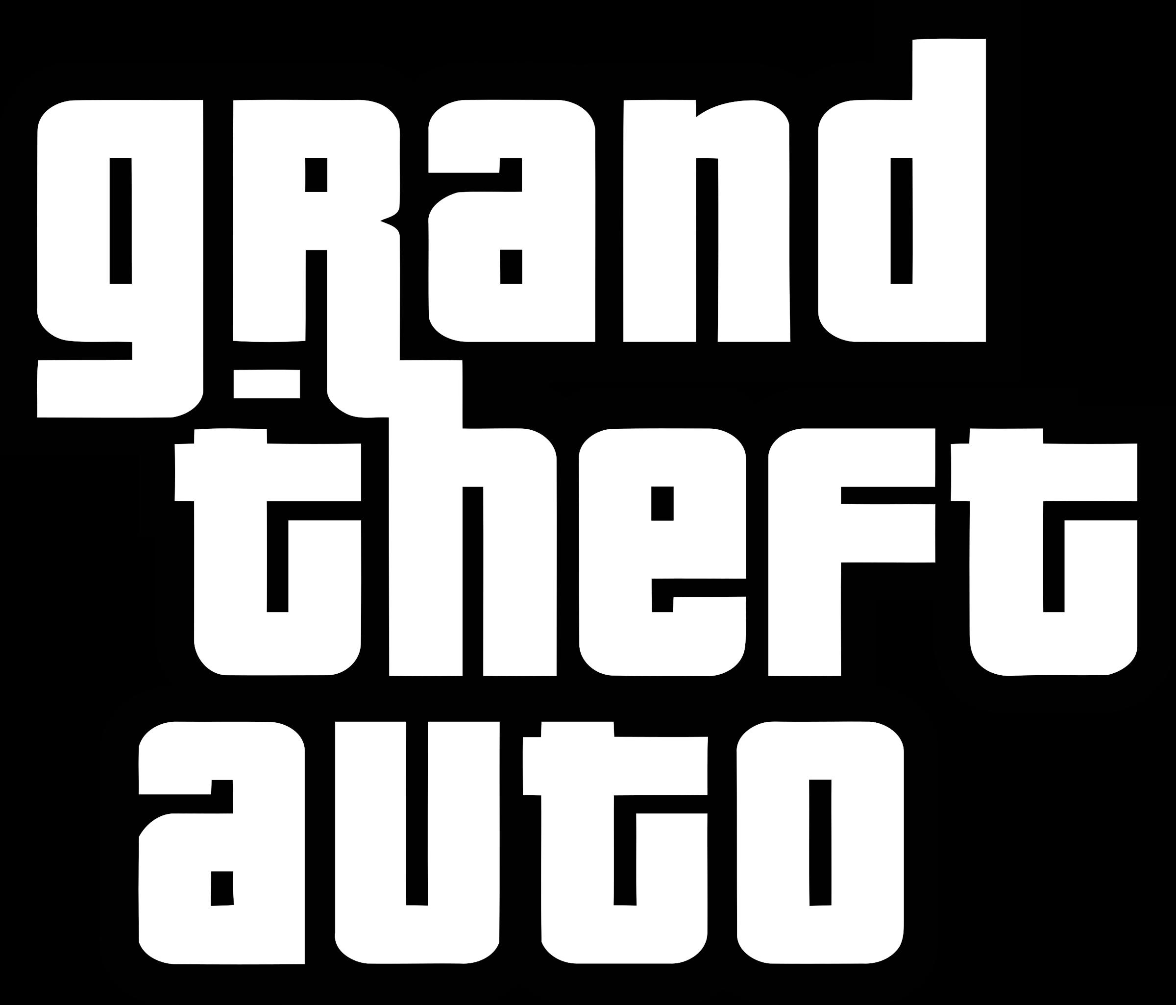 Gta Grand Theft Auto Logo Png Transparent Svg Vector Freebie Supply