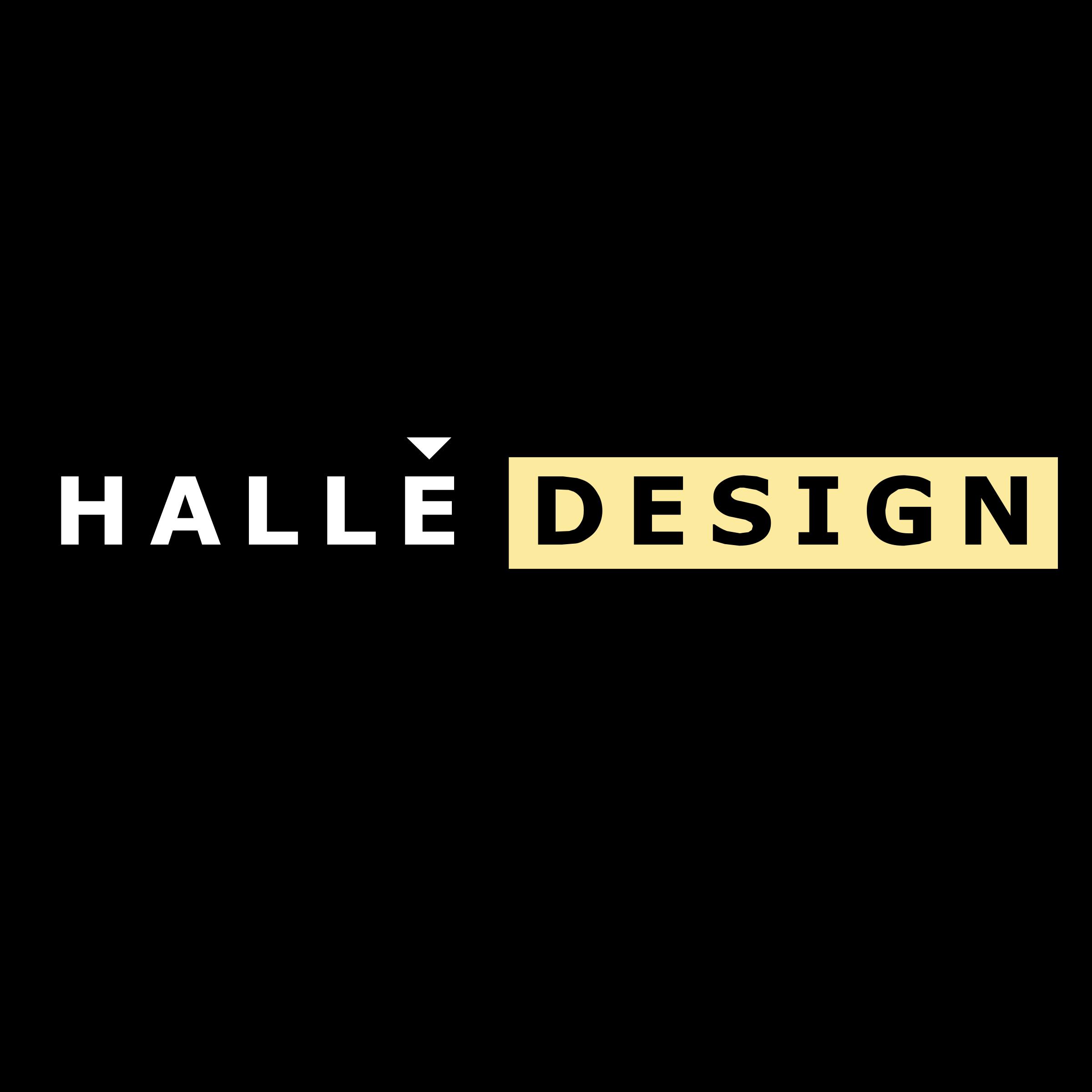 Halle Design Logo PNG Transparent & SVG Vector - Freebie Supply