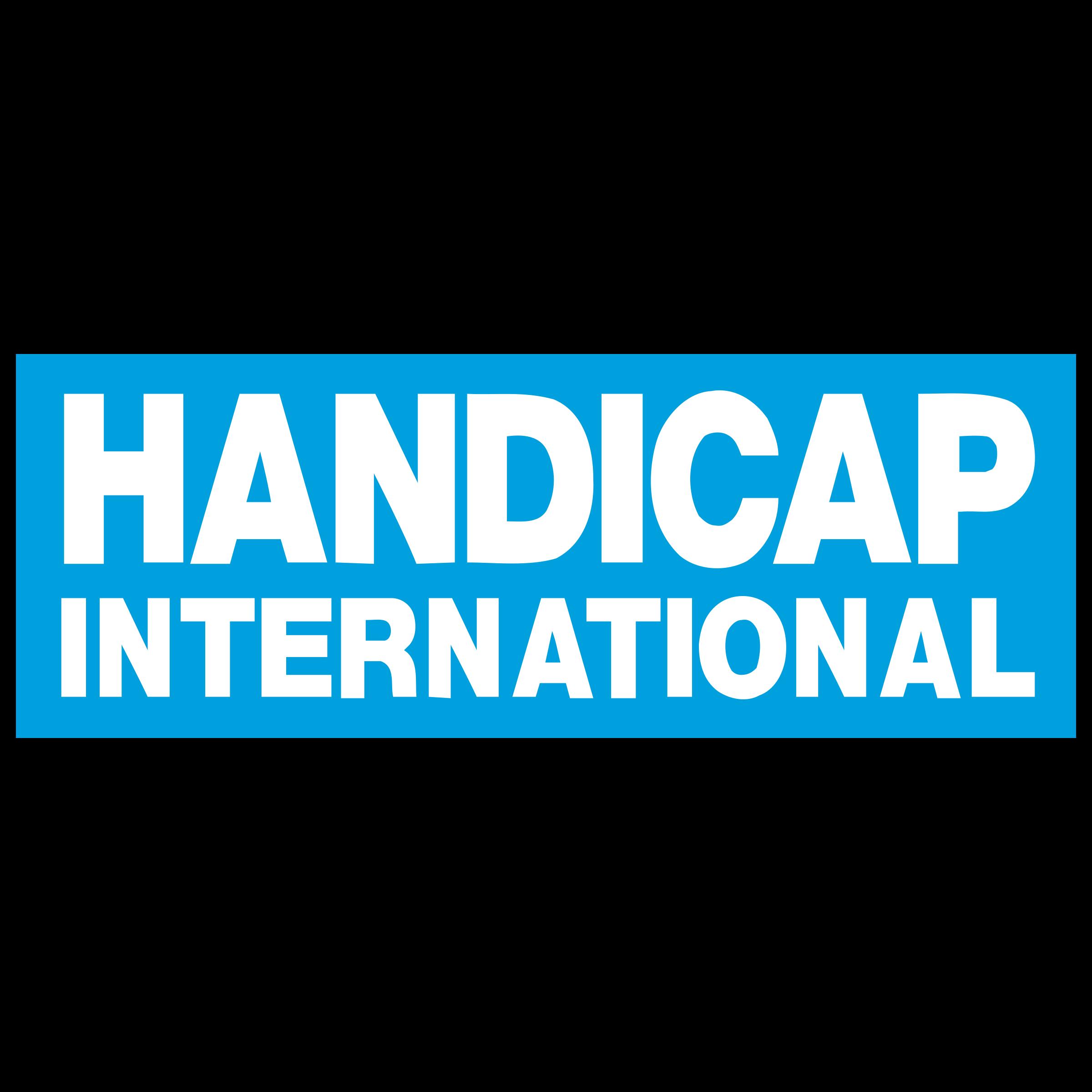 handicap international logo png transparent svg vector freebie