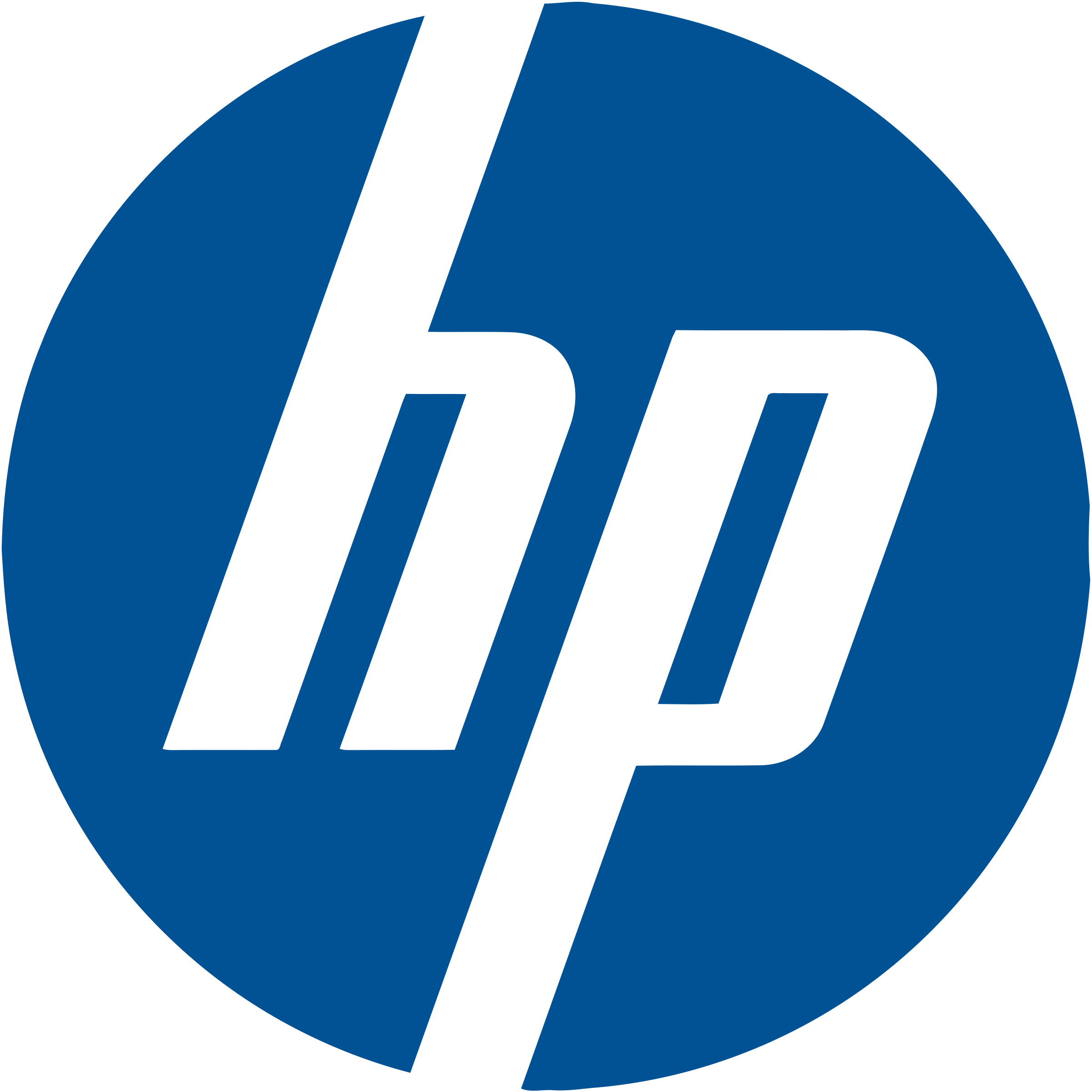 hewlett packard logo download