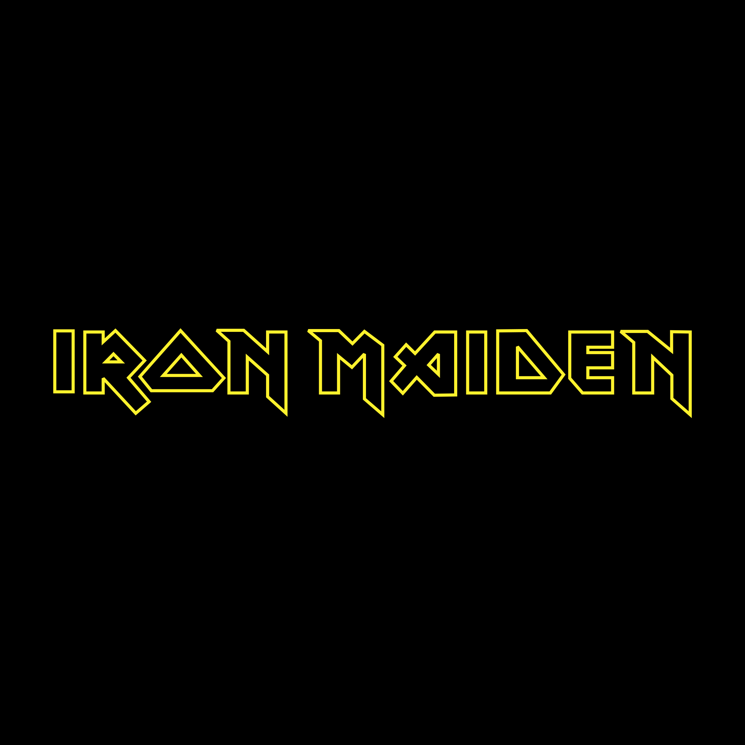 Iron Maiden Logo PNG Transparent SVG Vector