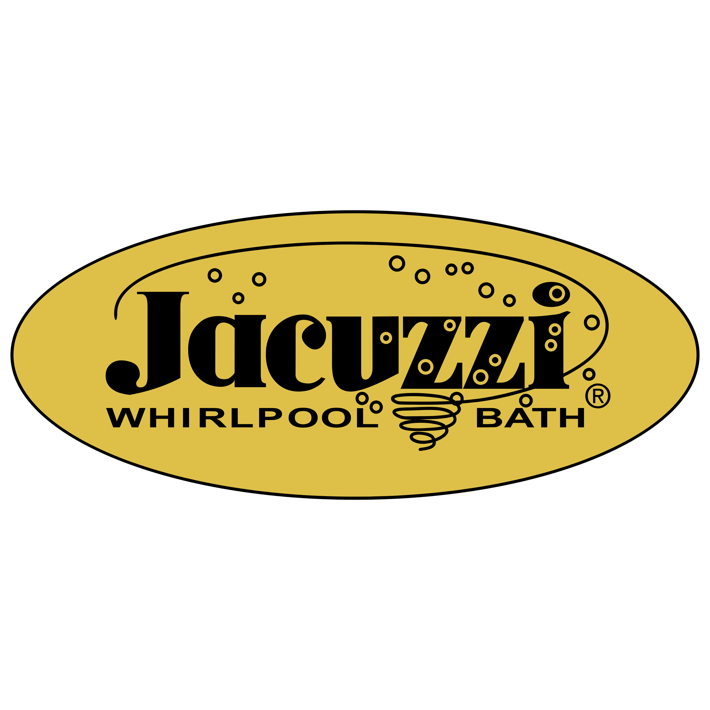 Jacuzzi Logo PNG Transparent & SVG Vector - Freebie Supply