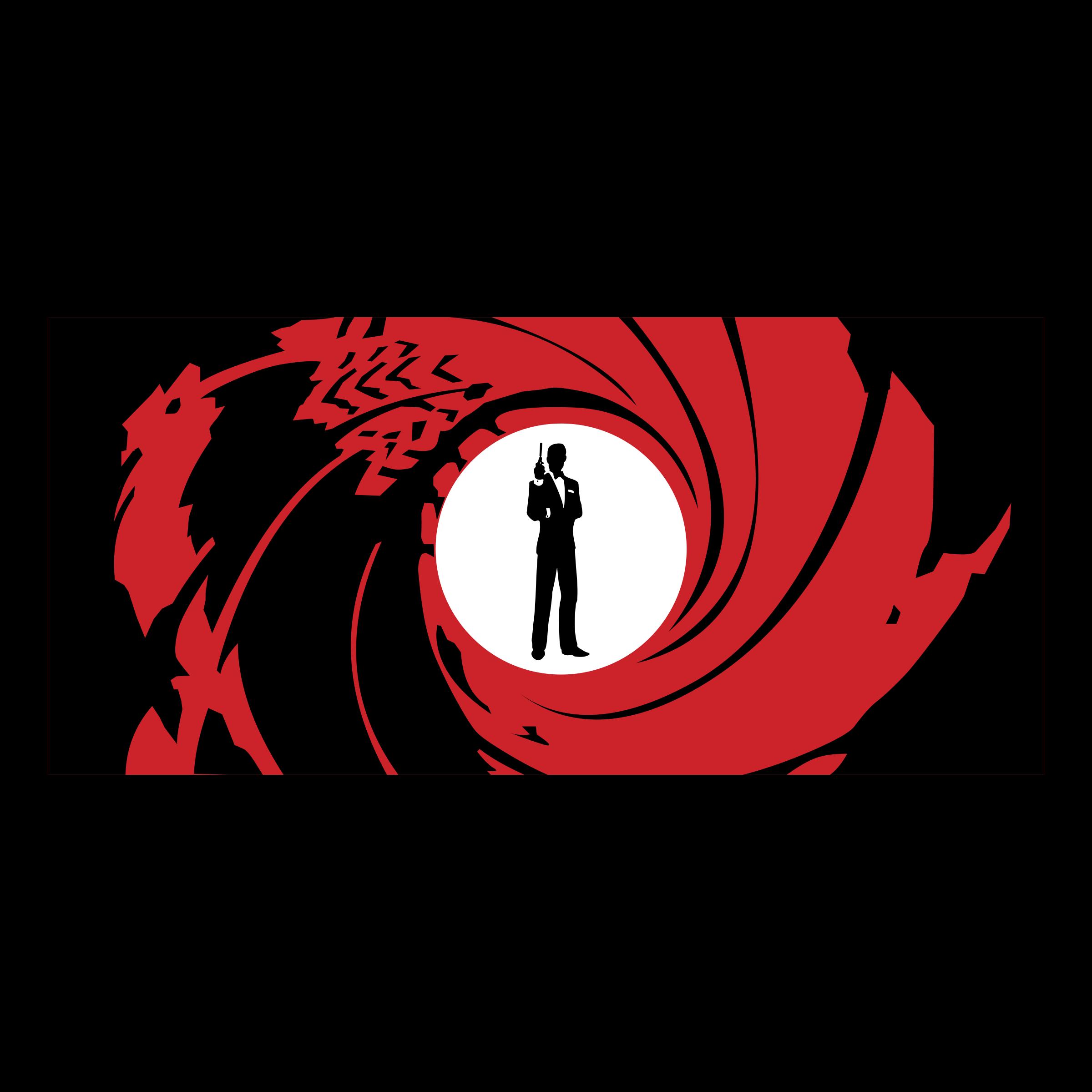 james bond 007 logo png transparent svg vector freebie supply
